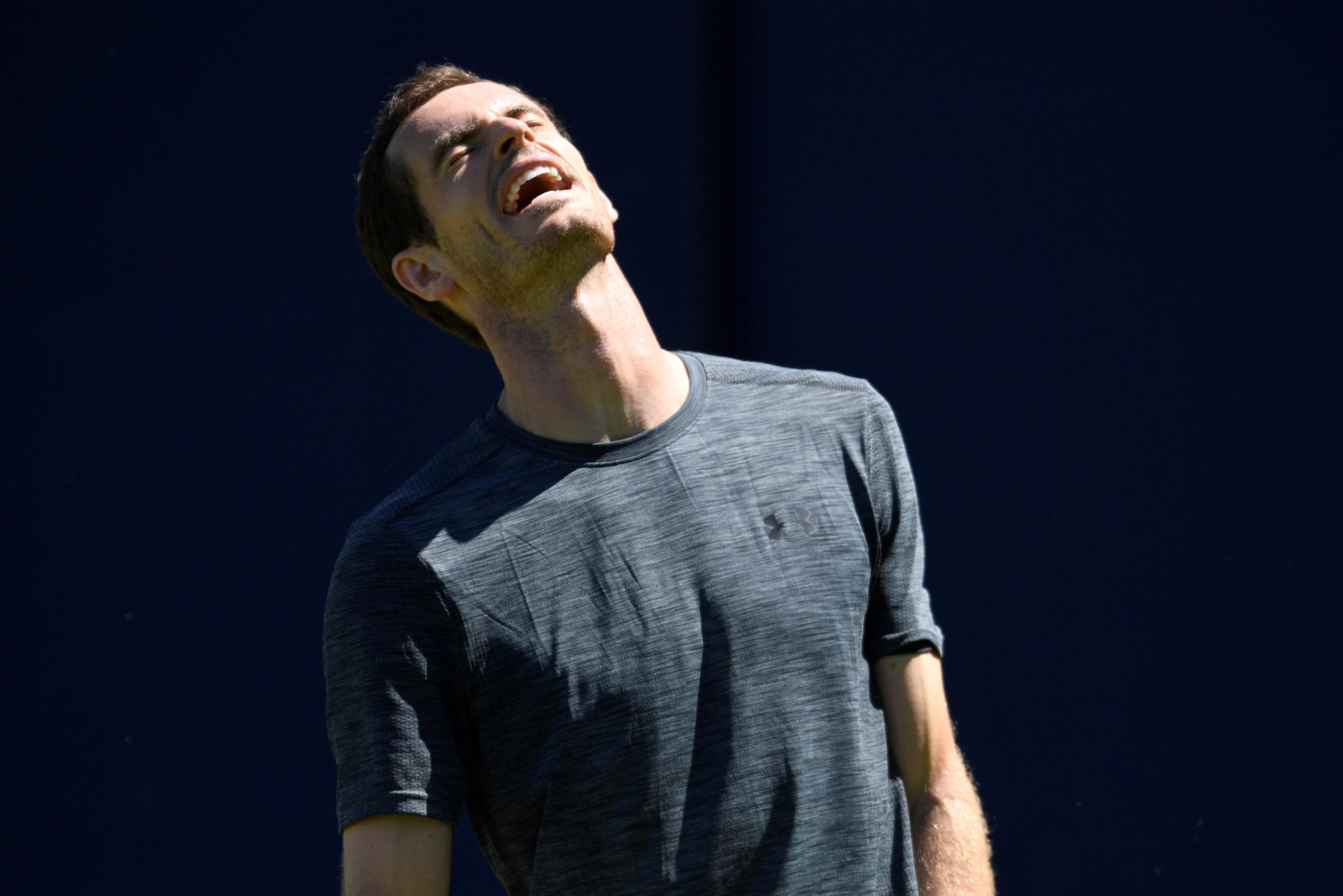 Andy Murray has been forced to put in the hard graft since his hip surgery