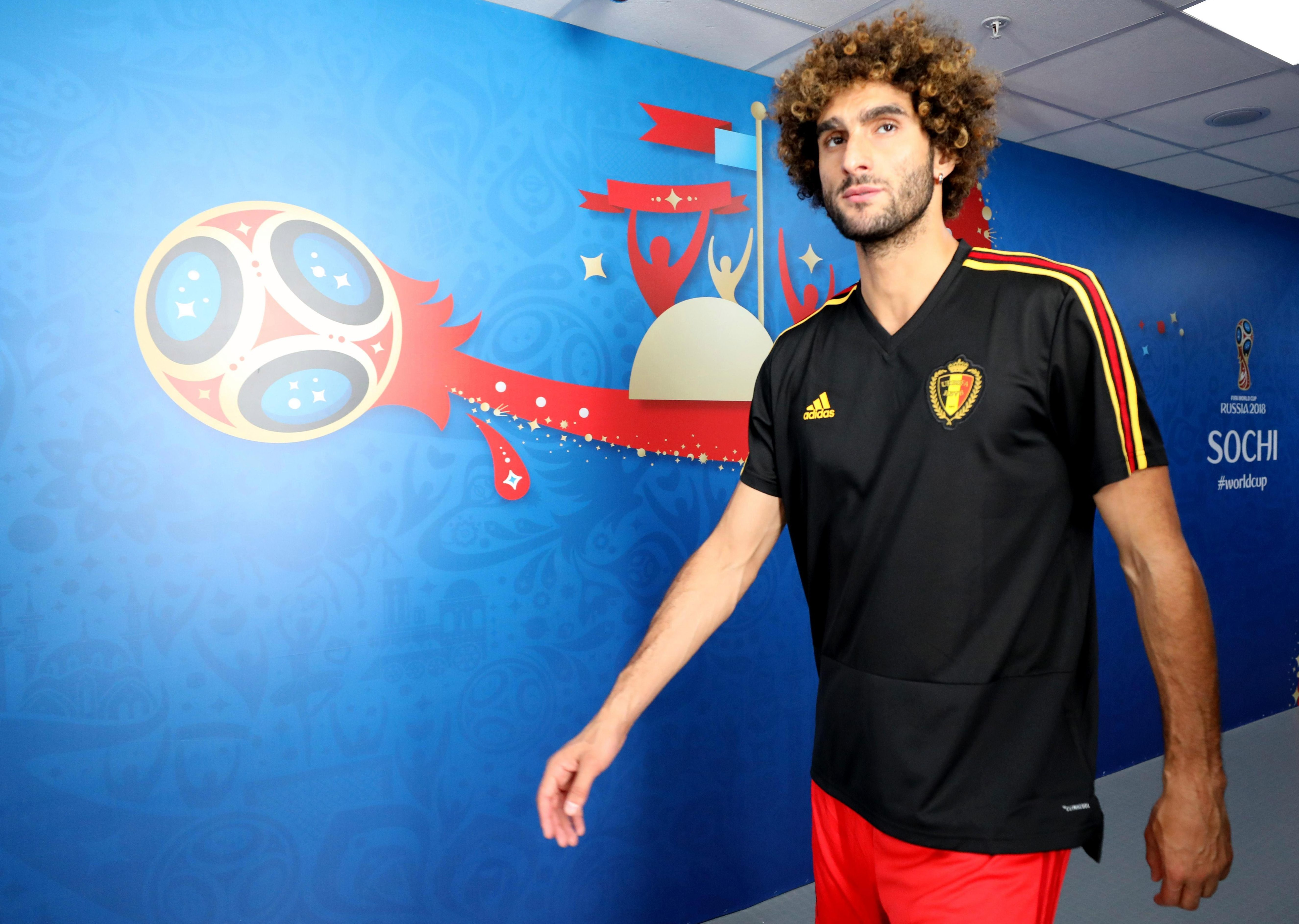 Fellaini is currently on World Cup duty with Belgium in Russia