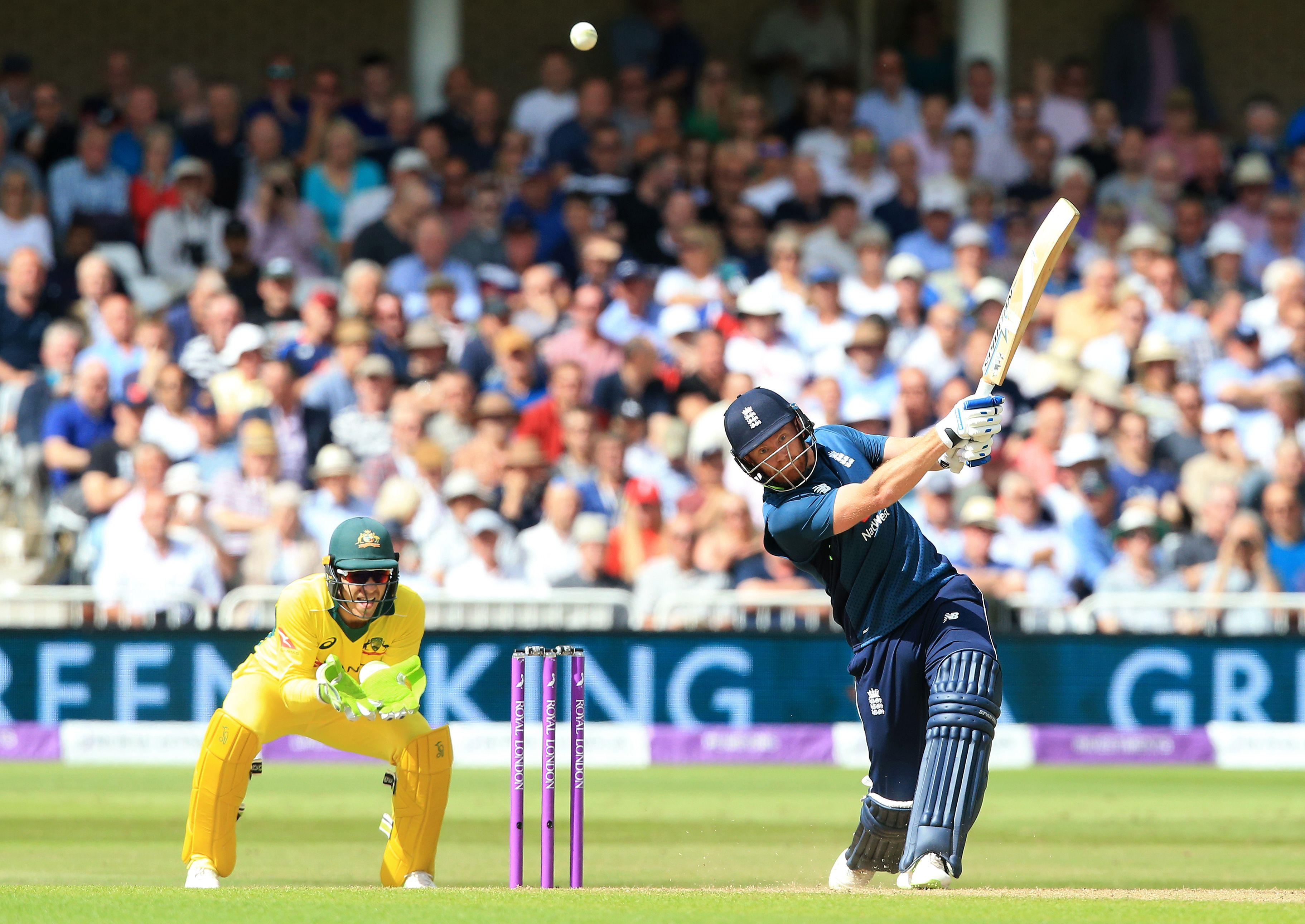 England brutalised Australia's bowling attack on Tuesday