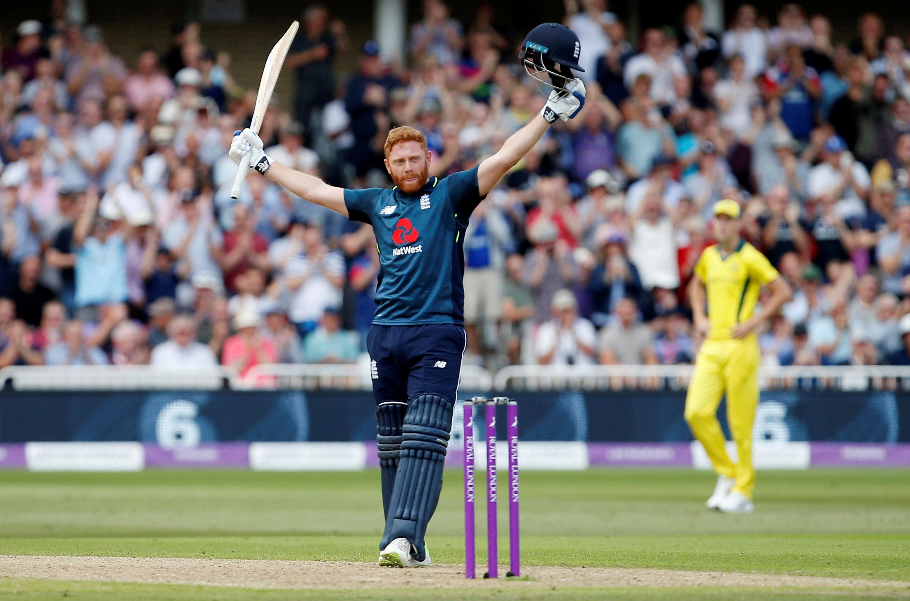 Jonny Bairstow also battered the boundaries with a scintillating century