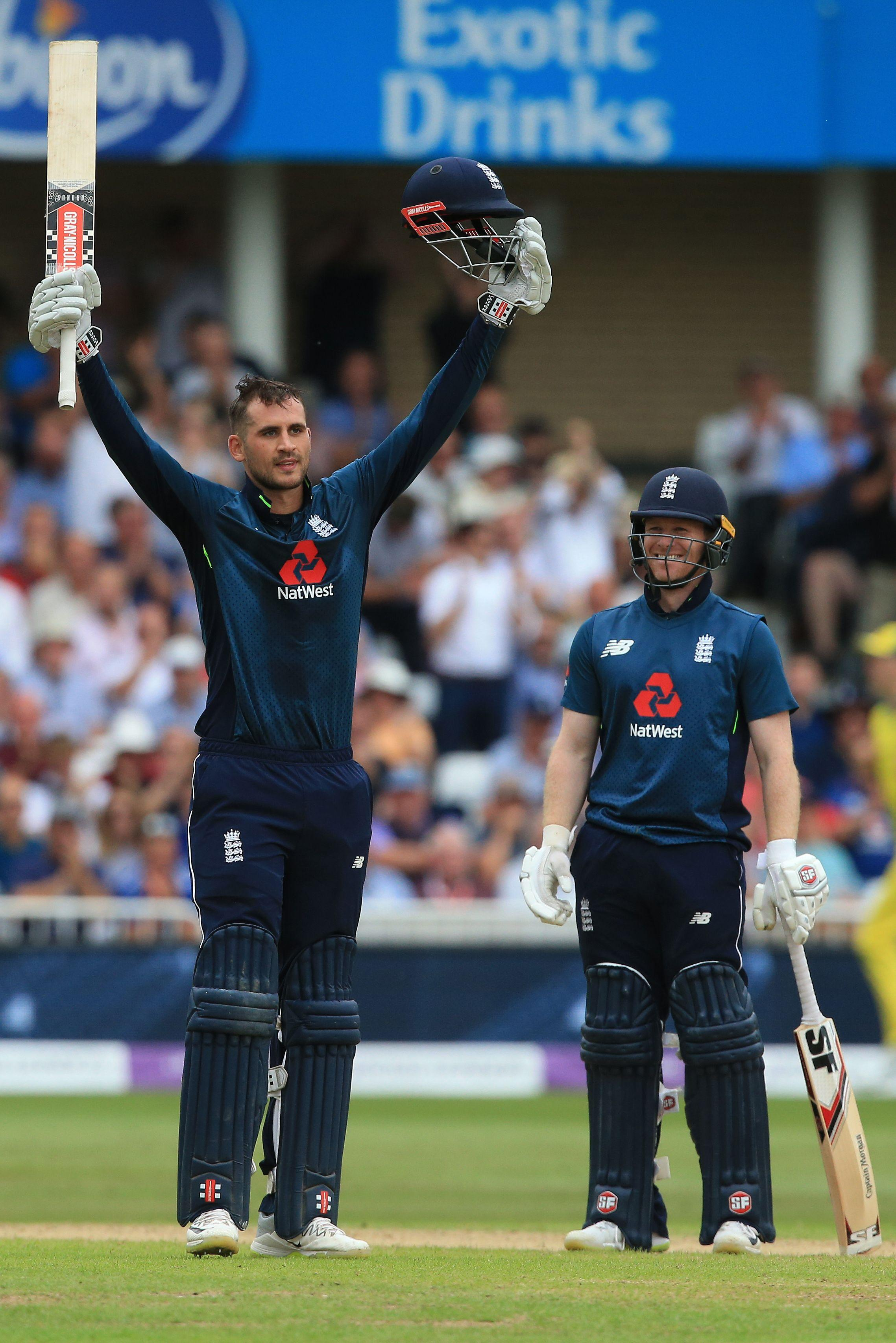 Alex Hales hit another massive century as England broke the world record for an ODI innings score at Trent Bridge
