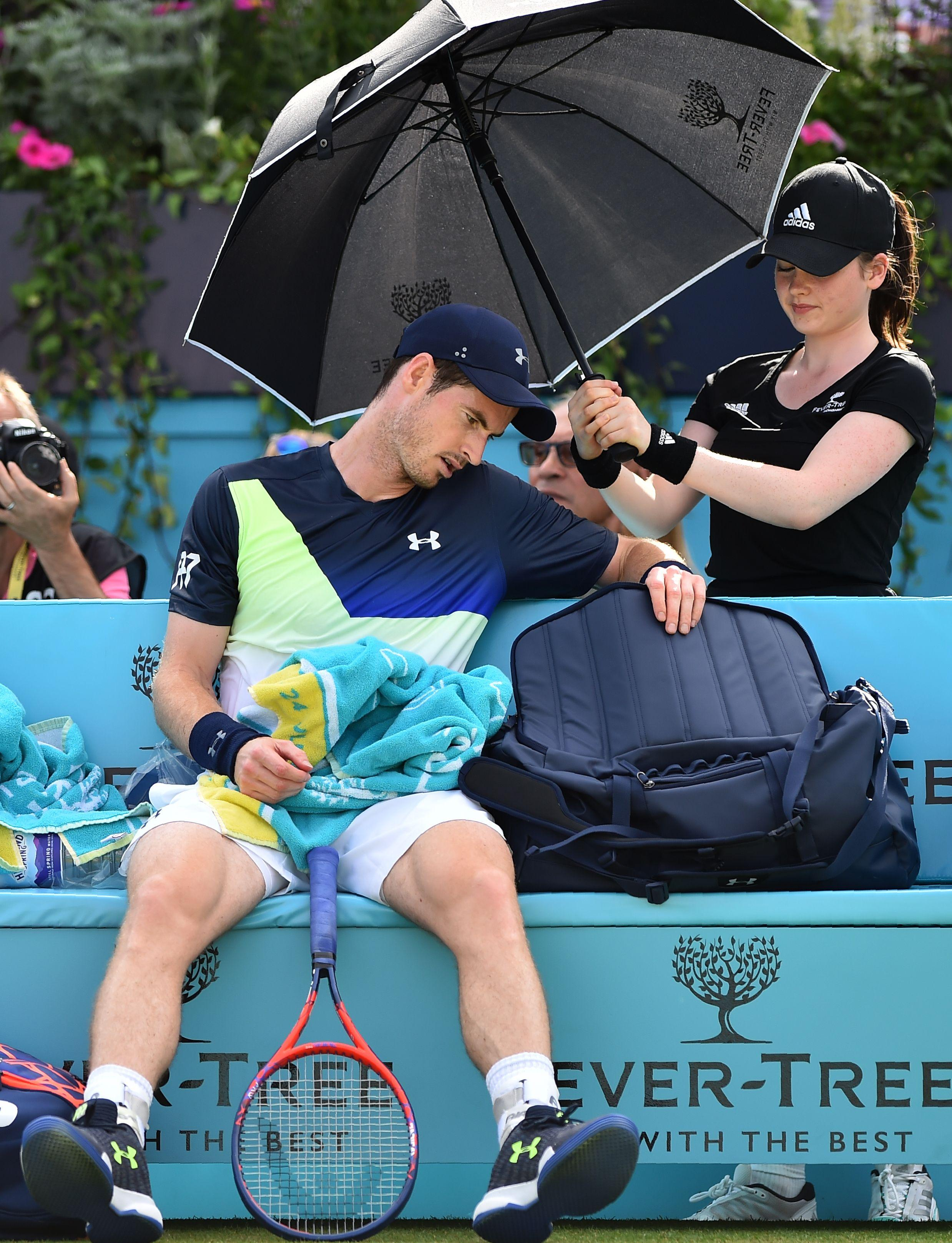 Andy Murray lost on his competitive return and must now focus on Wimbledon