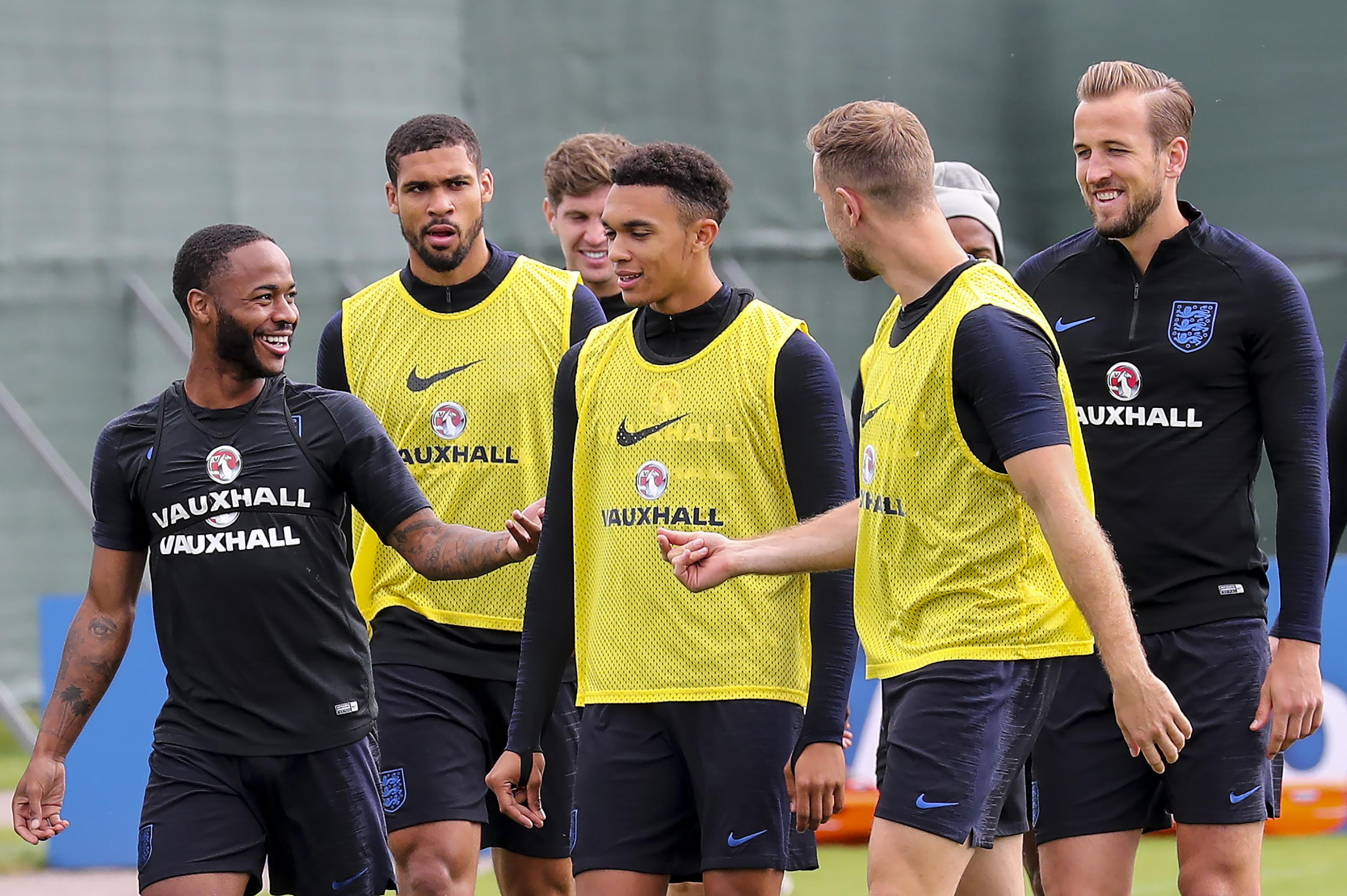 Hamilton admits he may have his mind on England's football stars come Sunday