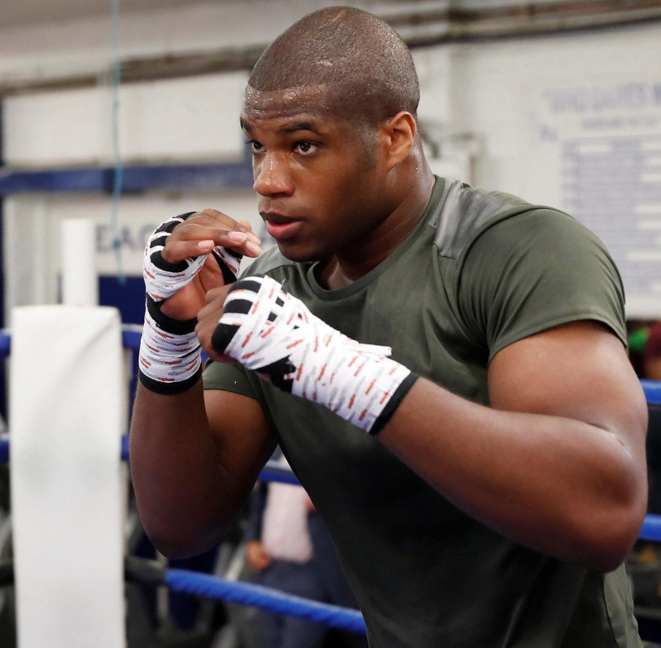 Exciting British heavyweight hope Daniel Dubois is in Russia