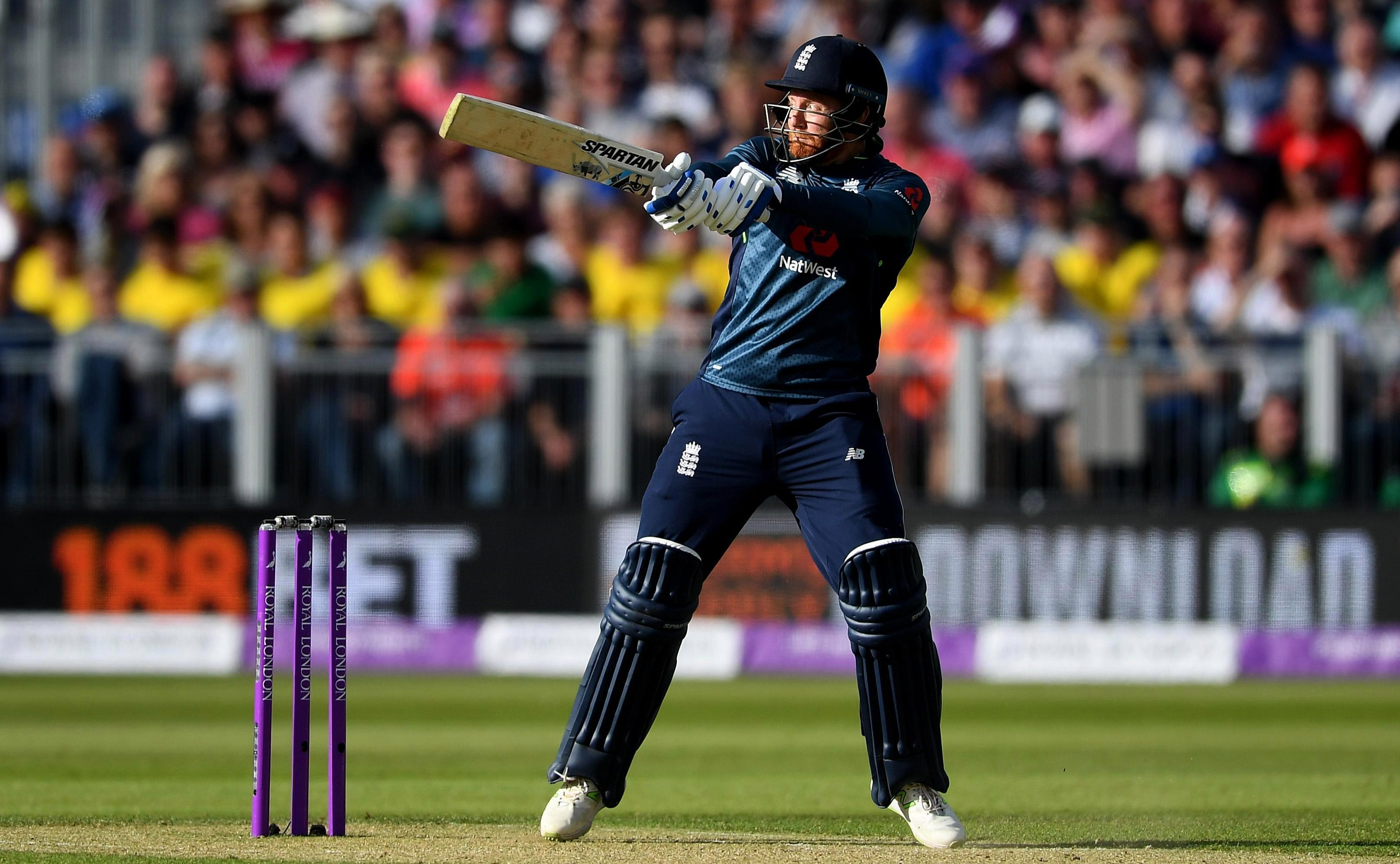 Jonny Bairstow smashed 79 from 66 balls as England made light work of their 311 target