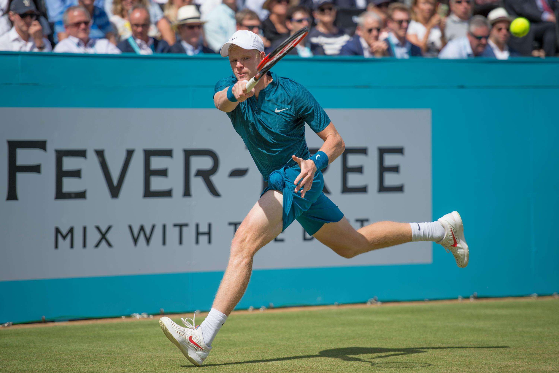 Edmund is preparing for Wimbledon at Queens Club