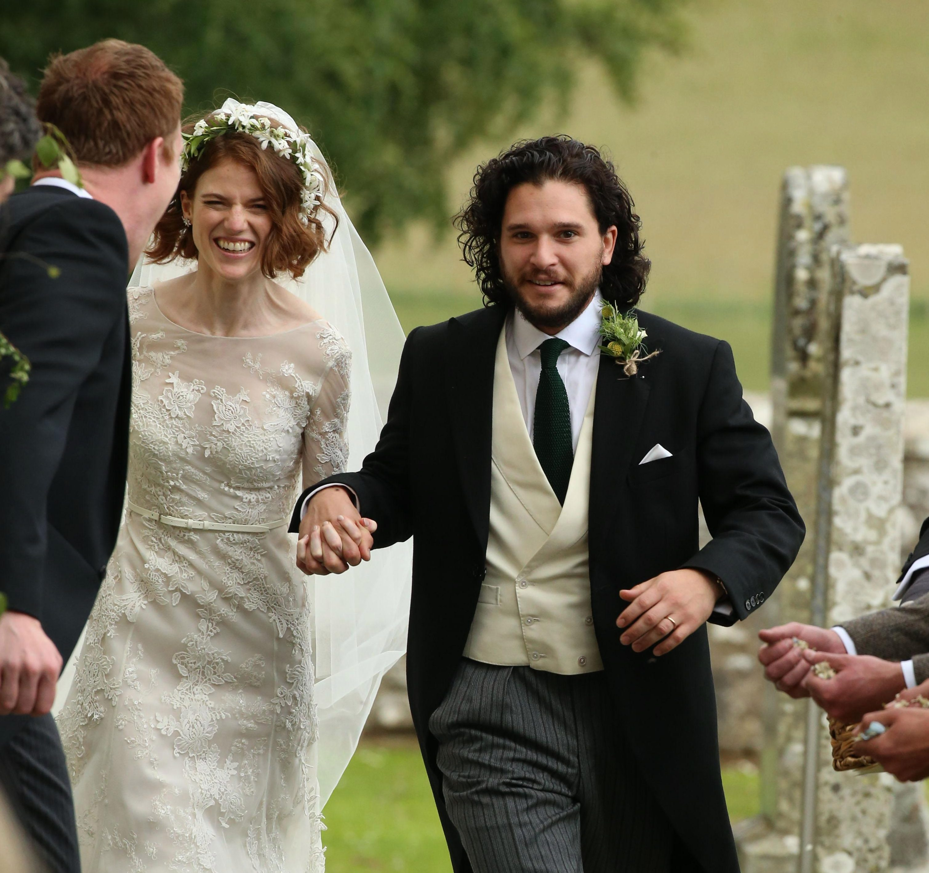 When Was Kit Harington And Rose Leslies Wedding Where Did