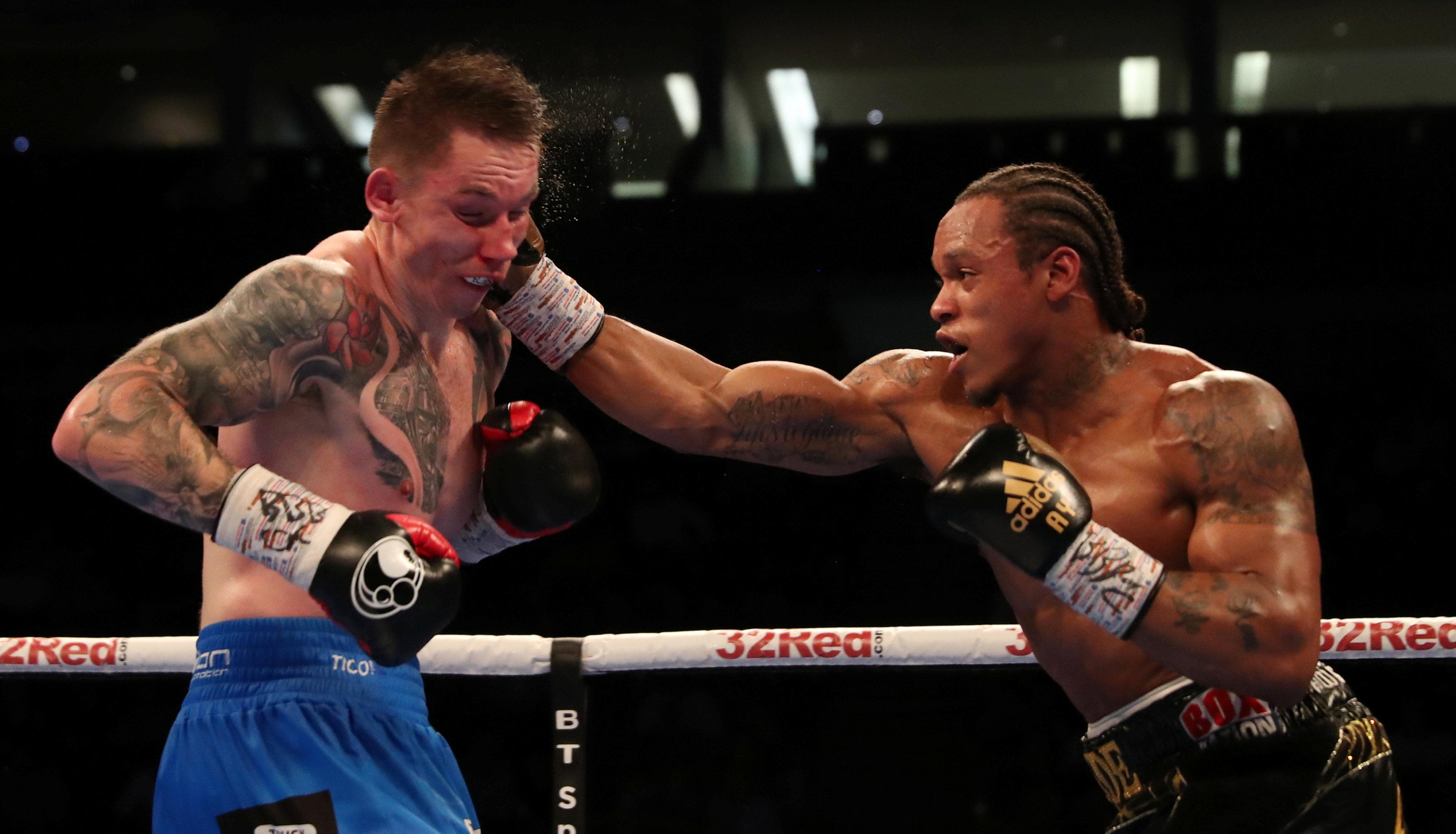 Anthony Yarde is the first boxer to stop Dariusz Sek in the ring