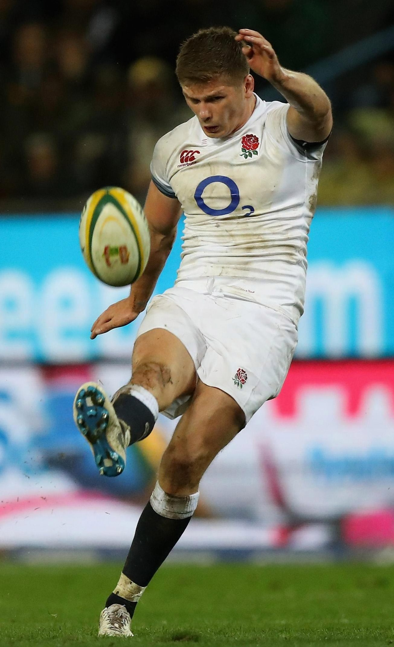 Owen Farrell kicked 20 points for England as they finally overcame South Africa - ending their six match losing streak