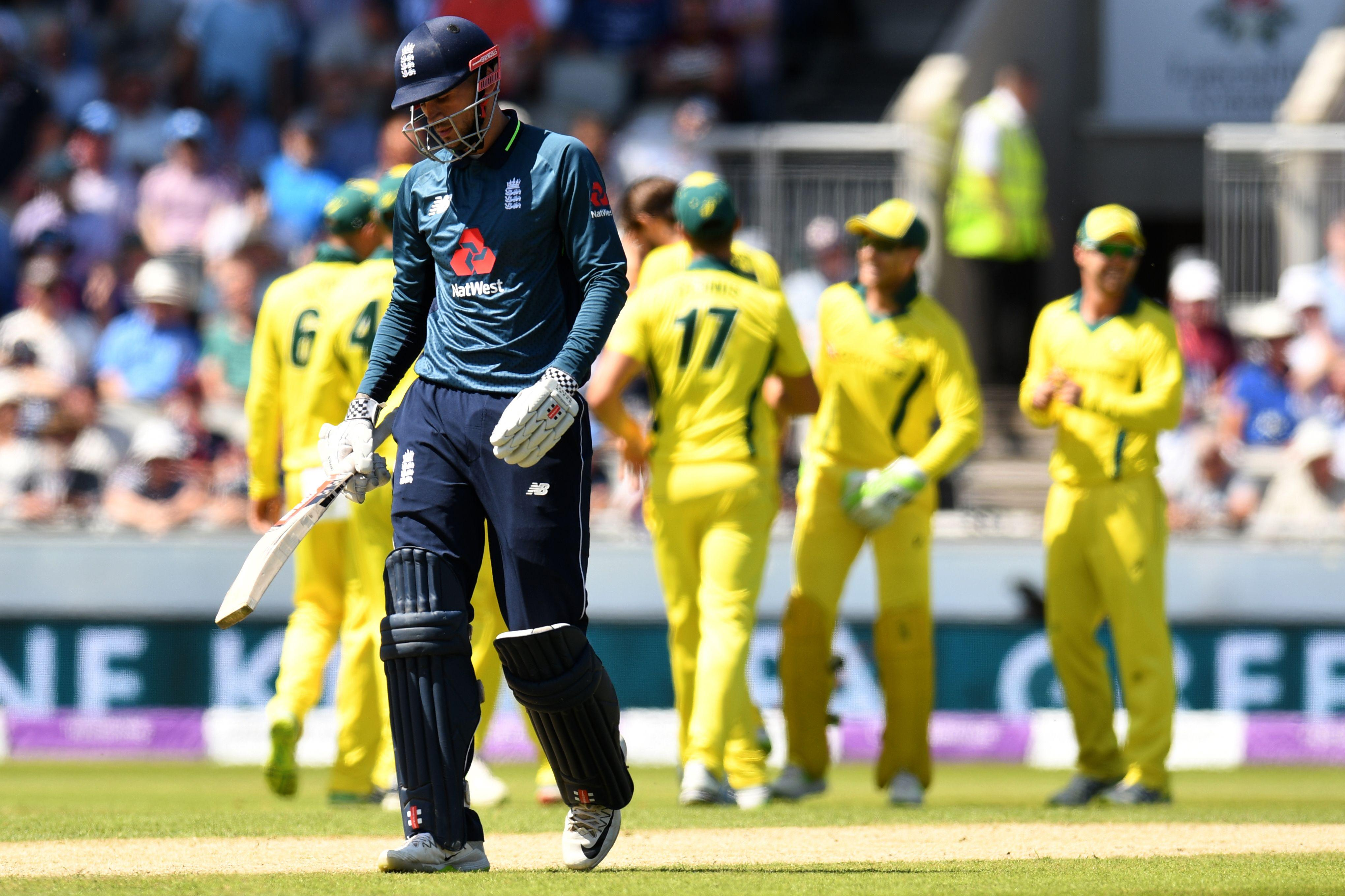England's top order was found wanting for once as they collapsed to 50-5 at one stage