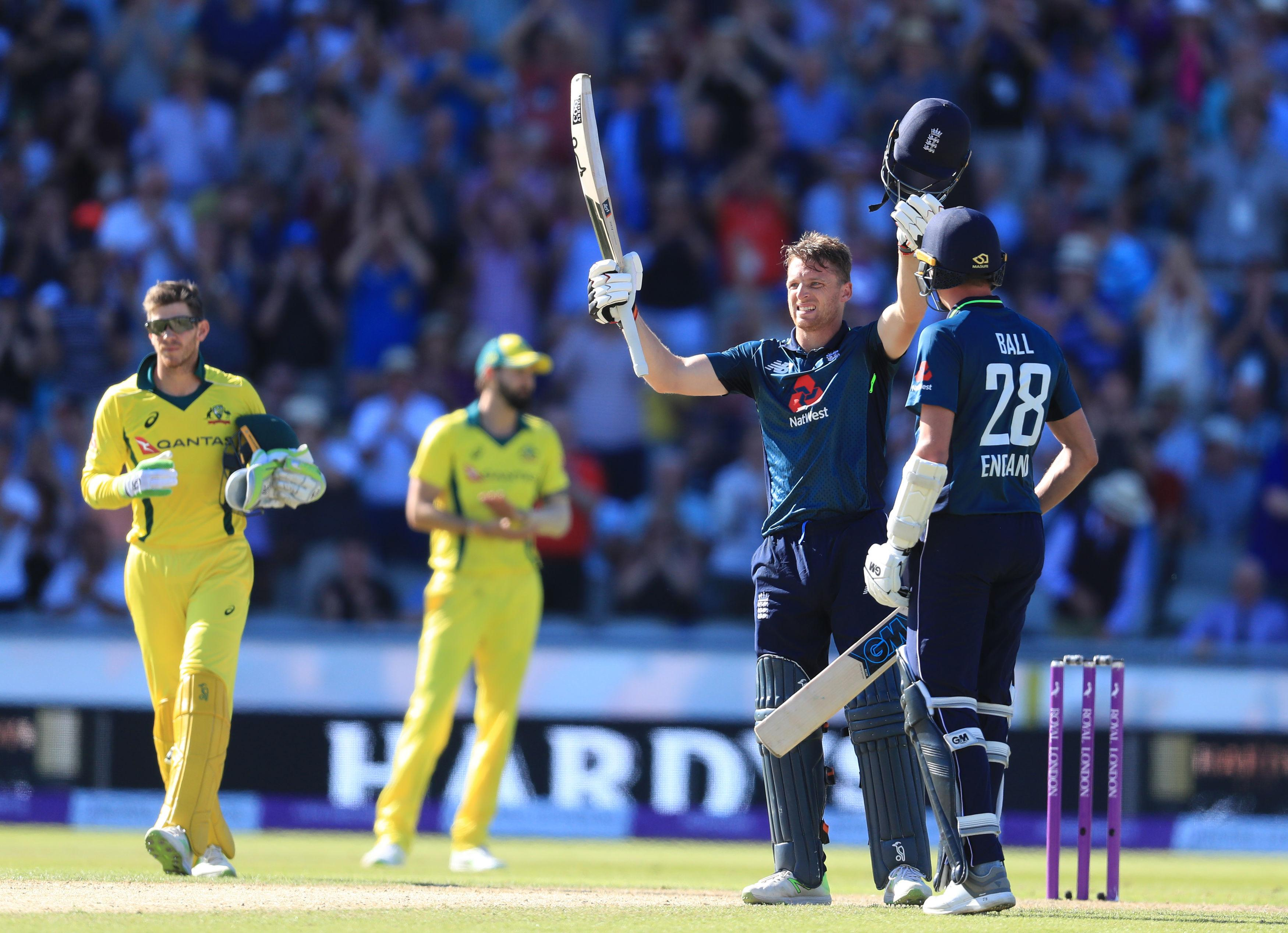 Buttler was the only England player to pass 20 as they struggled against Australia's pace attack