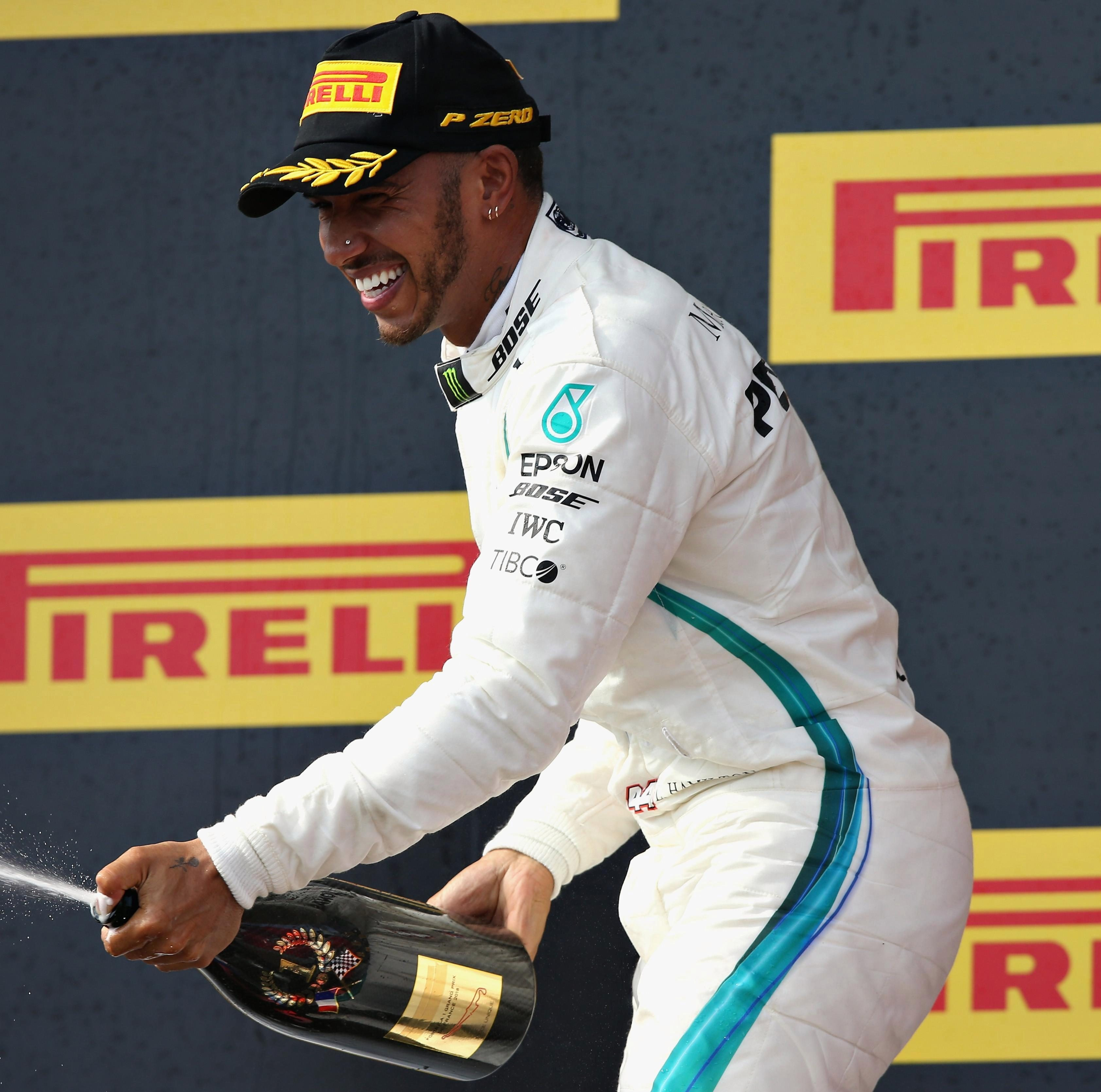 Lewis Hamilton leads the championship after his French GP win on Sunday