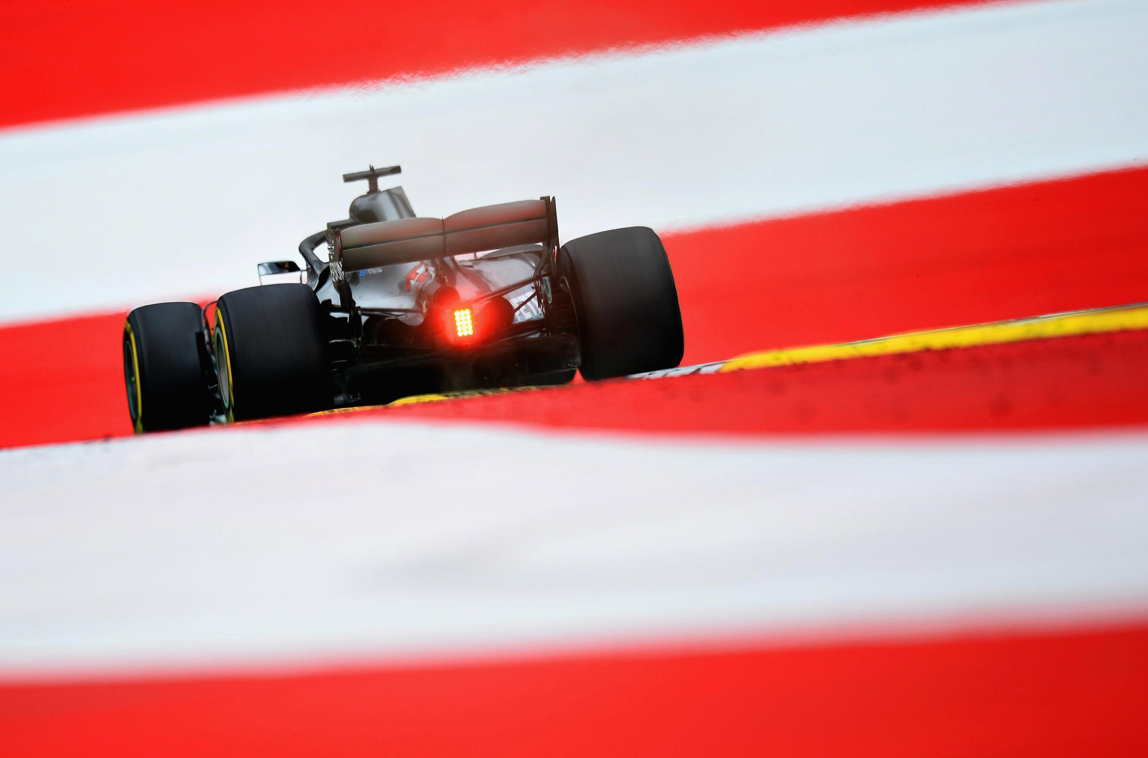 Hamilton was the fastest in practice in Austria as he bids to extend his lead at the top of the driver's championship