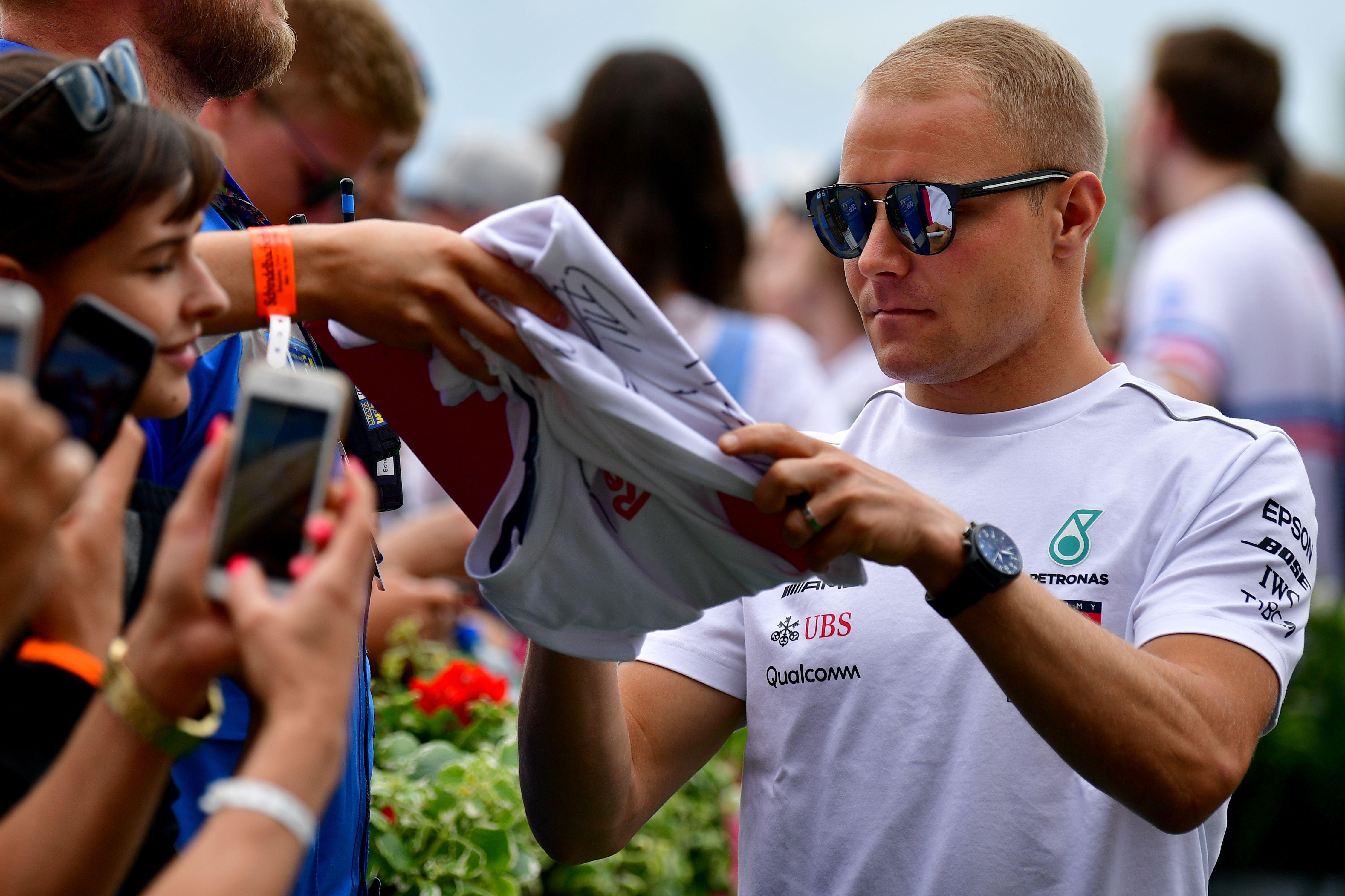 Valtteri Bottas will now start on pole for Sunday's Austrian Grand Prix