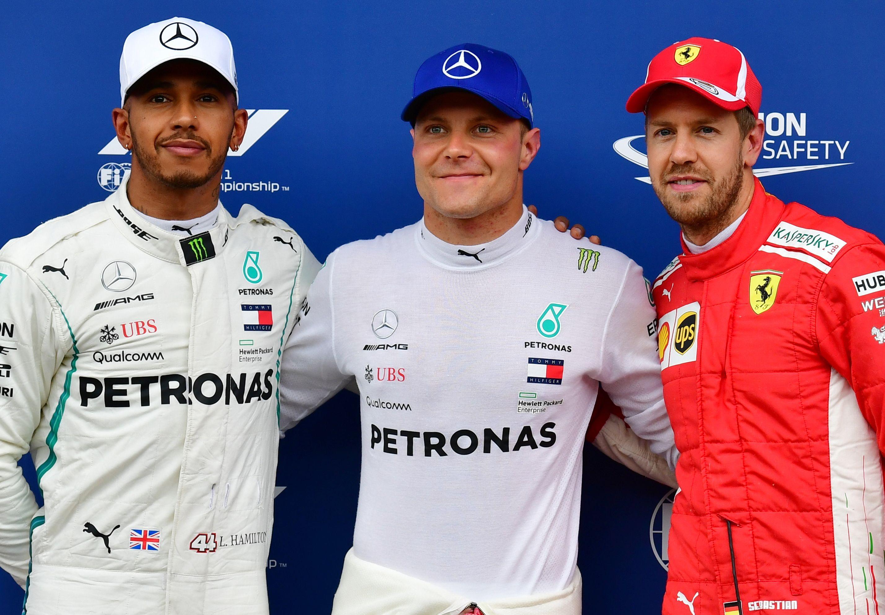 Valtteri Bottas beat team-mate Lewis Hamilton to take pole in Austria