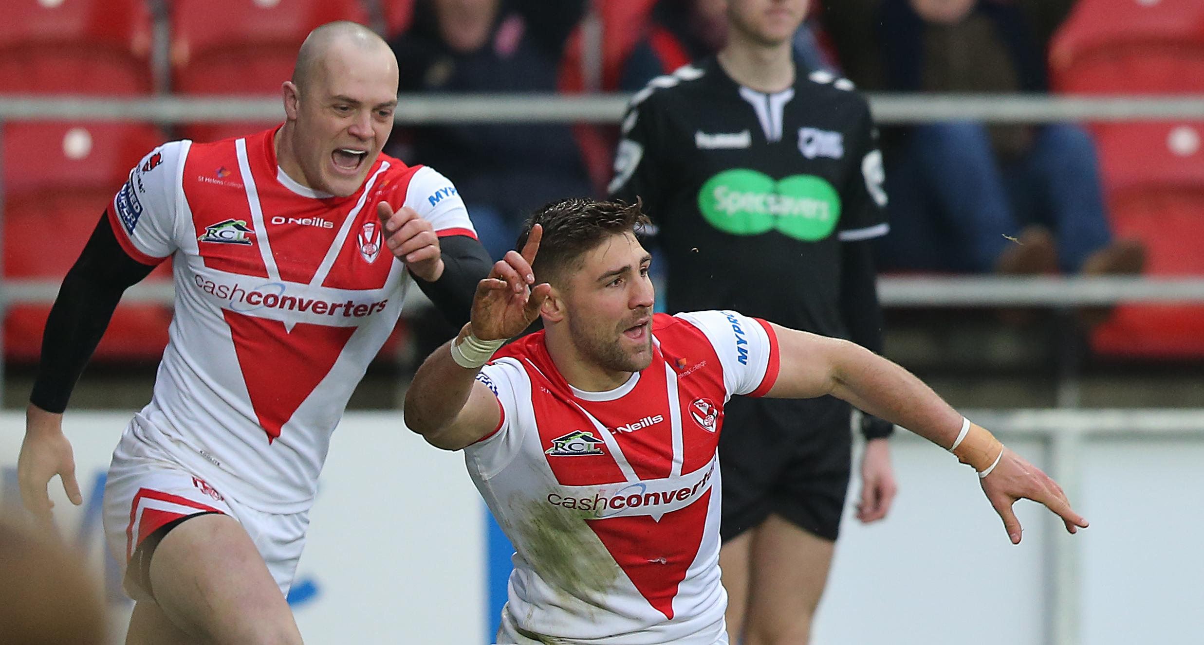 Tommy Makinson has also been rewarded with a call up
