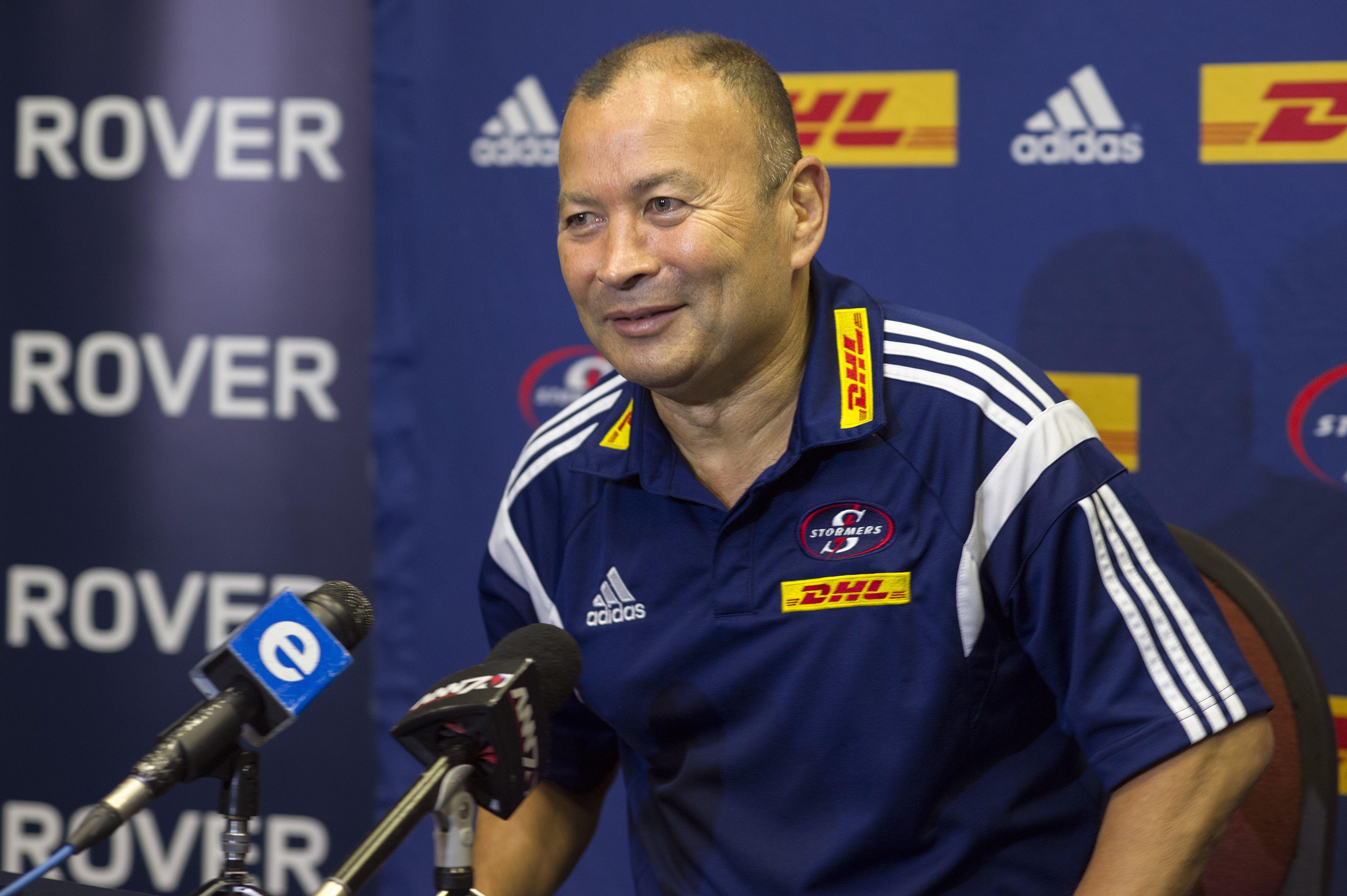 Eddie Jones was Springboks coach for just over a week as England came calling in 2015