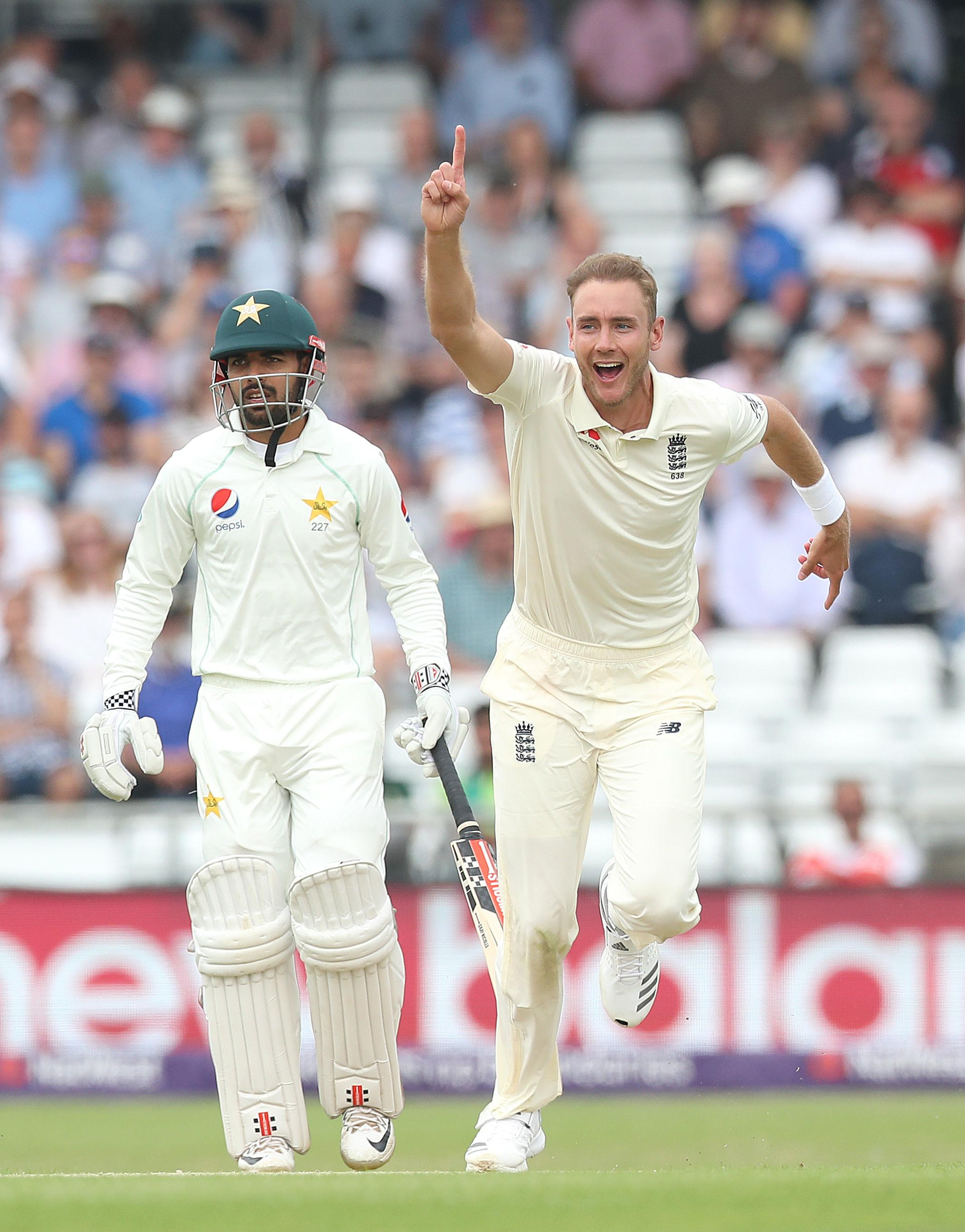 Michael Vaughan floated the idea that Stuart Broad should be dropped