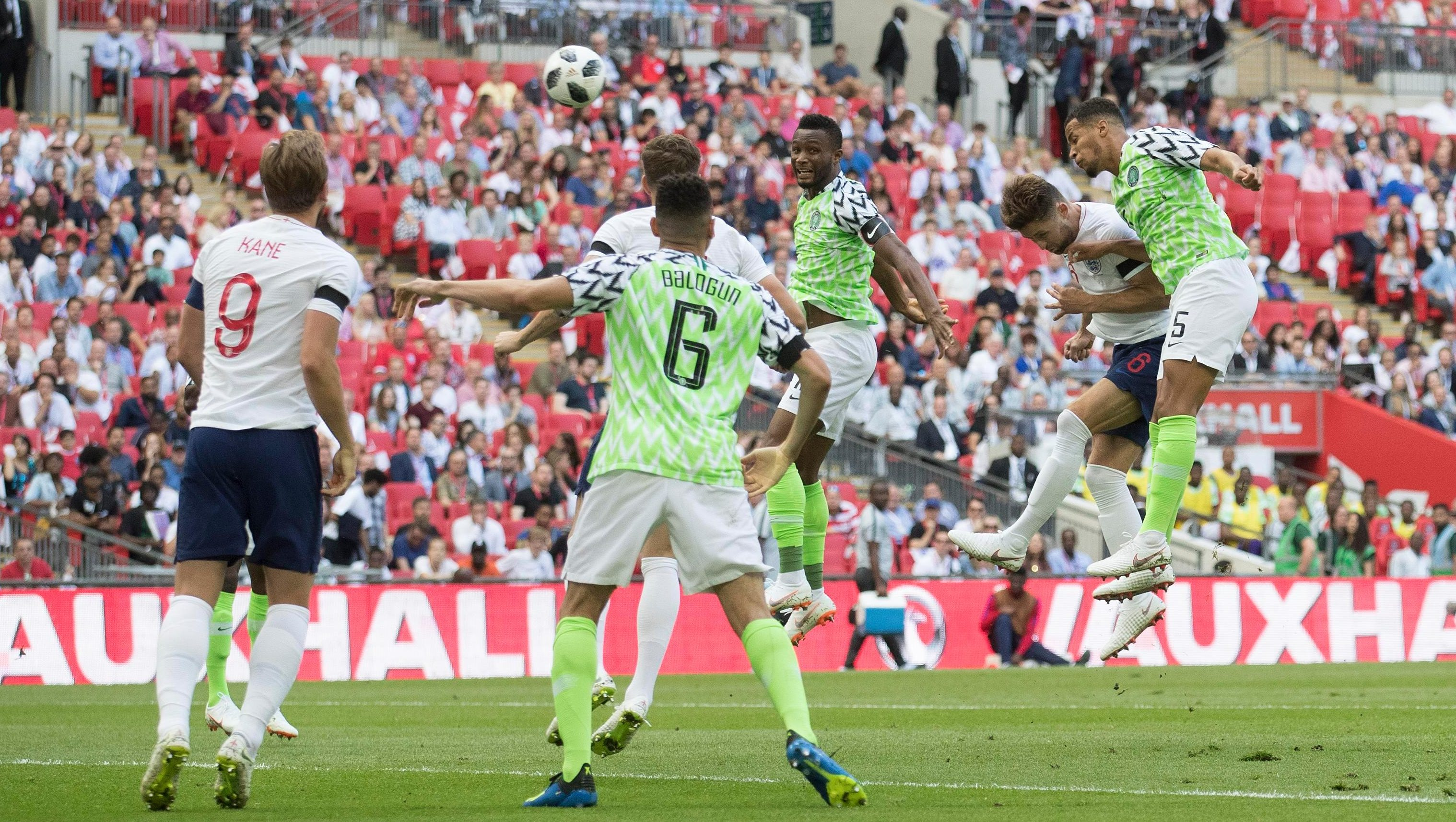 Image result for England 2 Nigeria 1: Three Lions impress in World Cup warm-up