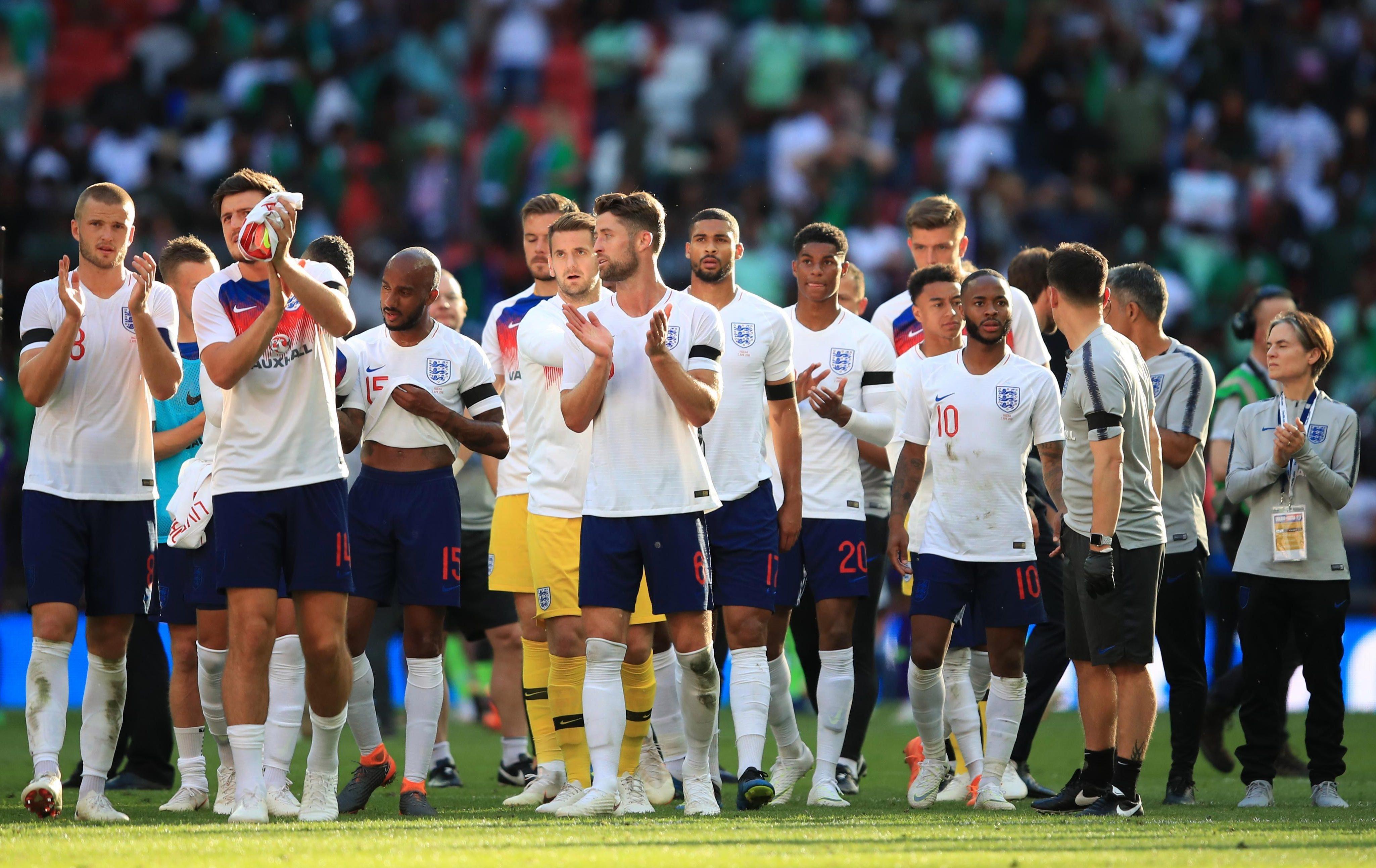The Three Lions beat Nigeria 2-1 at Wembley