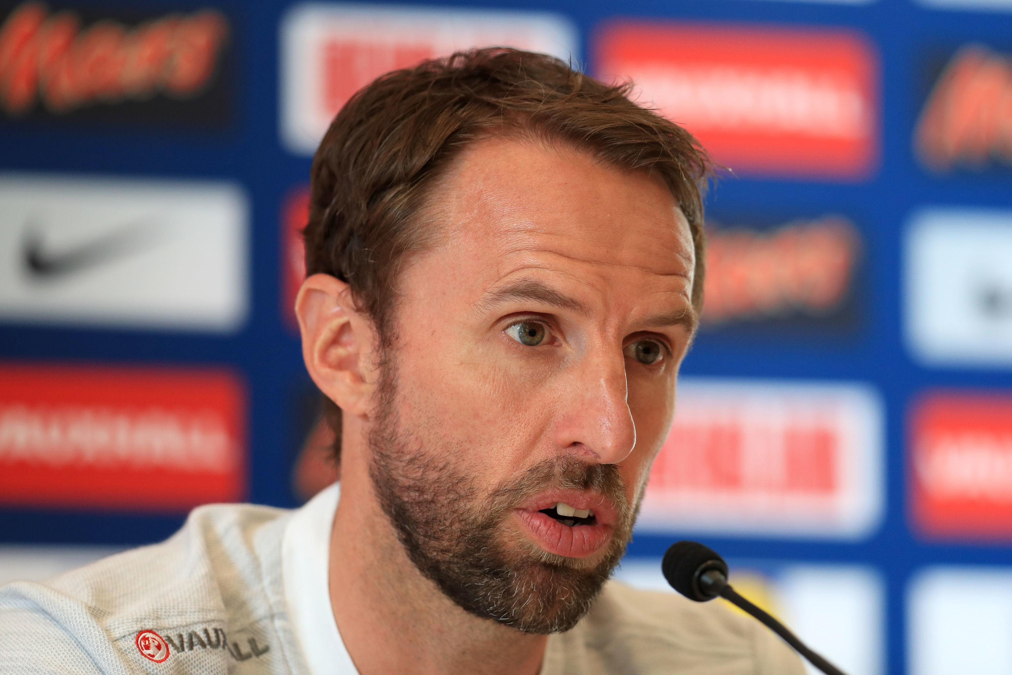 Southgate has advised his players to be vigilant across the pitch