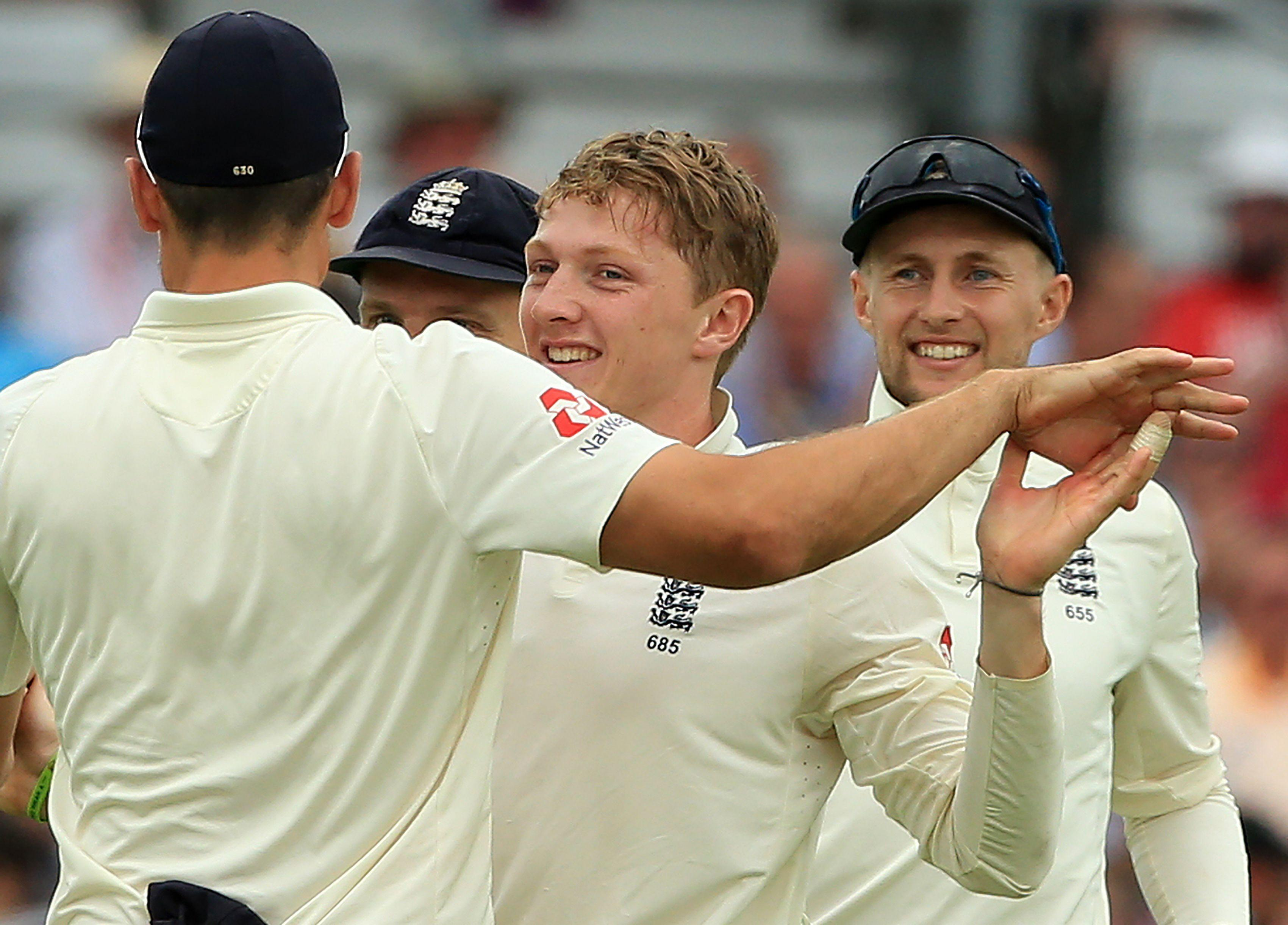Dom Bess took his first Test wickets as England stormed to victory