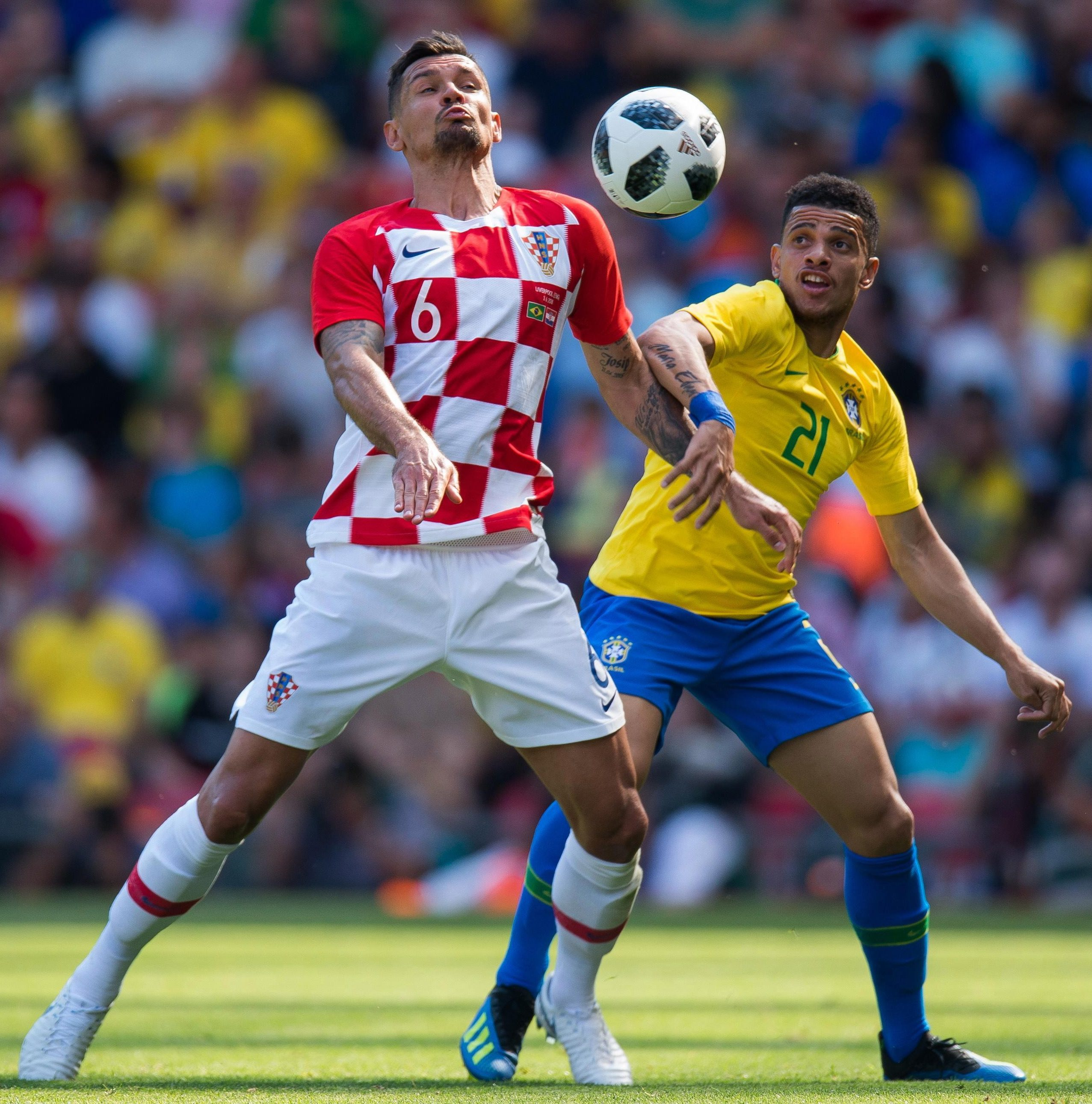 Dejan Lovren is confident Croatia will get out of their World Cup group