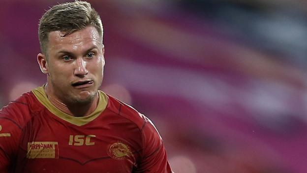 Catalans Dragons' Josh Drinkwater is thought to be a target for Leeds