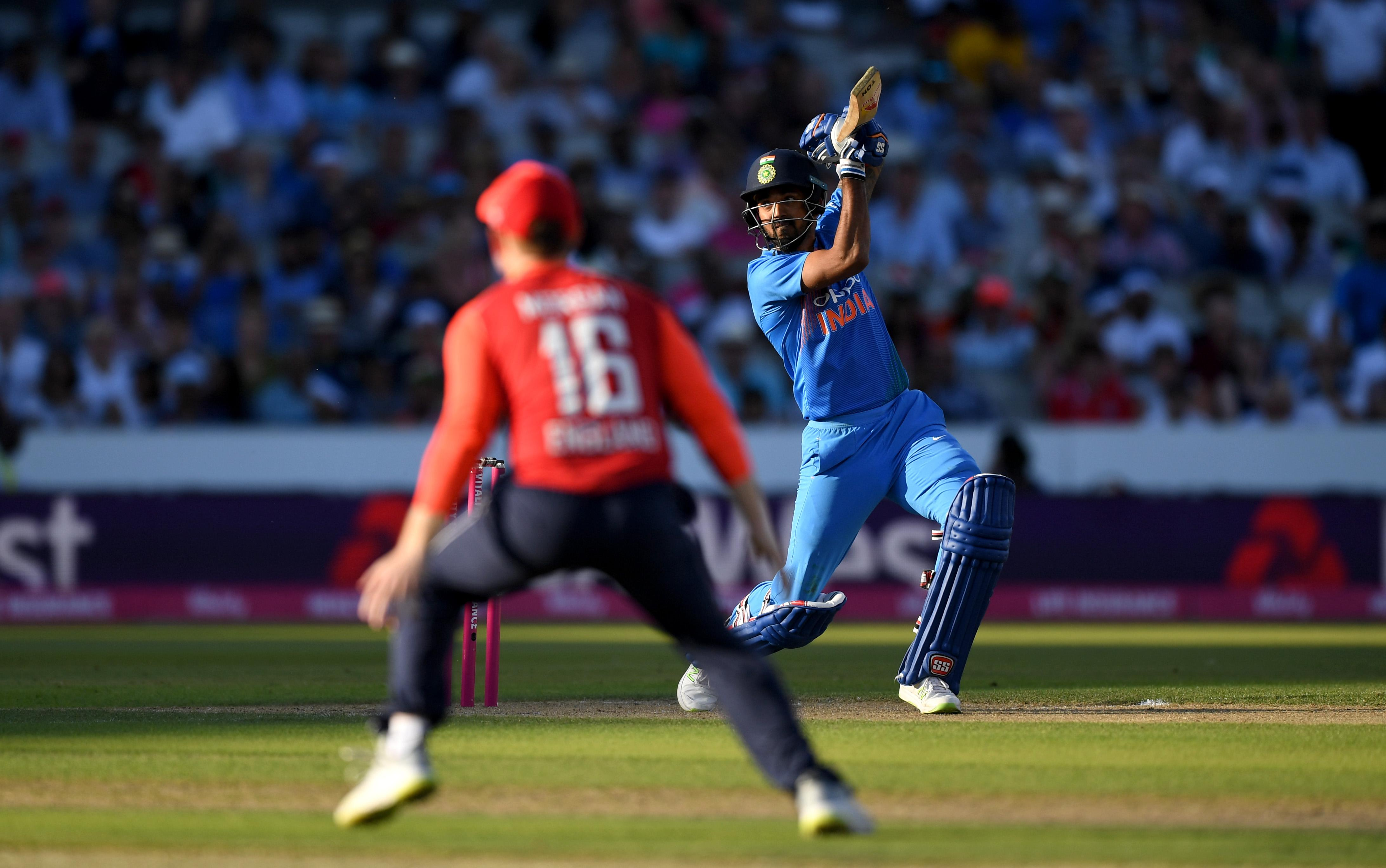 KL Rahul's century powered India to victory in the first T20 on Tuesday in Manchester