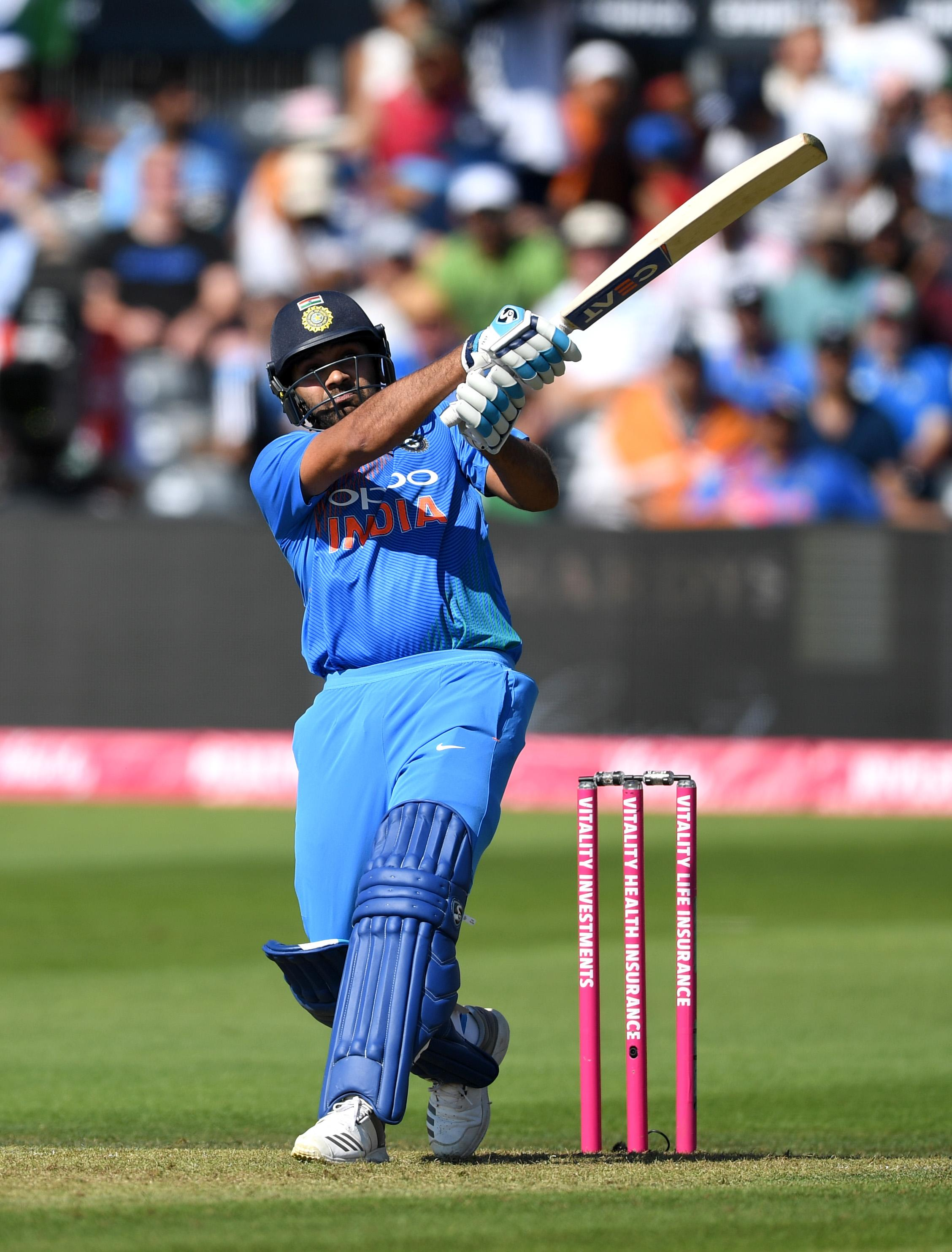 Rohit Sharma saw India home with an excellent century