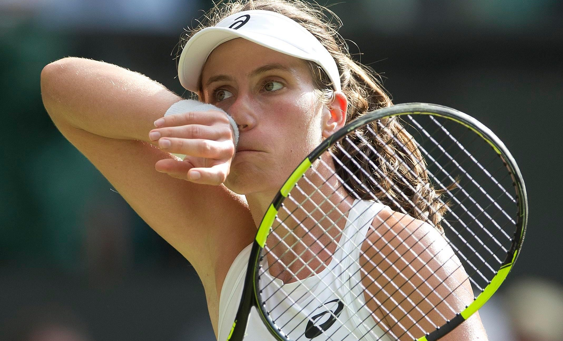 Jo Konta made the semi-finals last year but could not manage a repeat performance