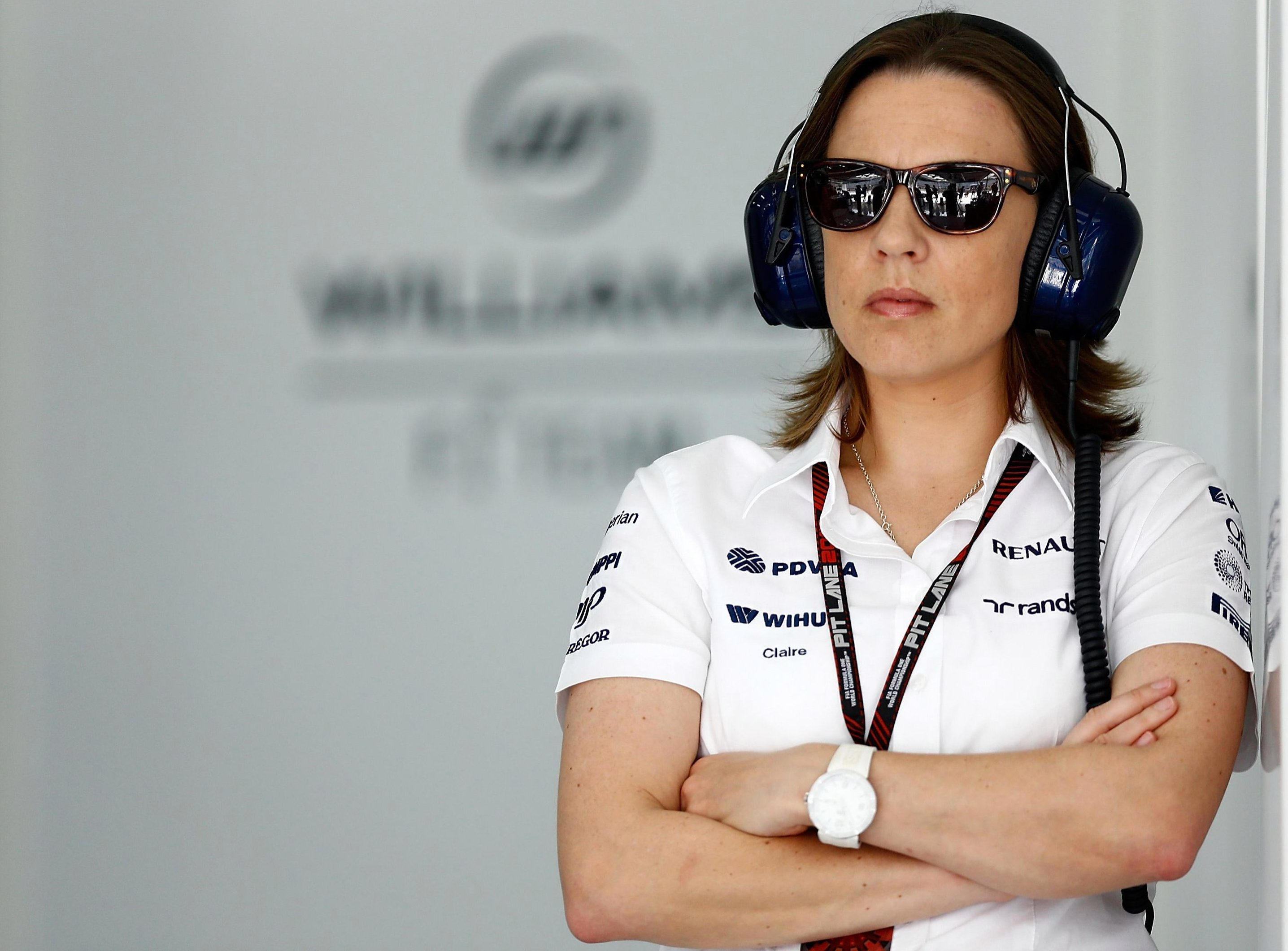 Life on an F1 team is tough for Claire Williams but she will not quit