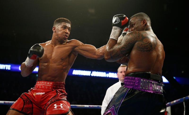 Whyte suffered defeat himself to Joshua back in 2015