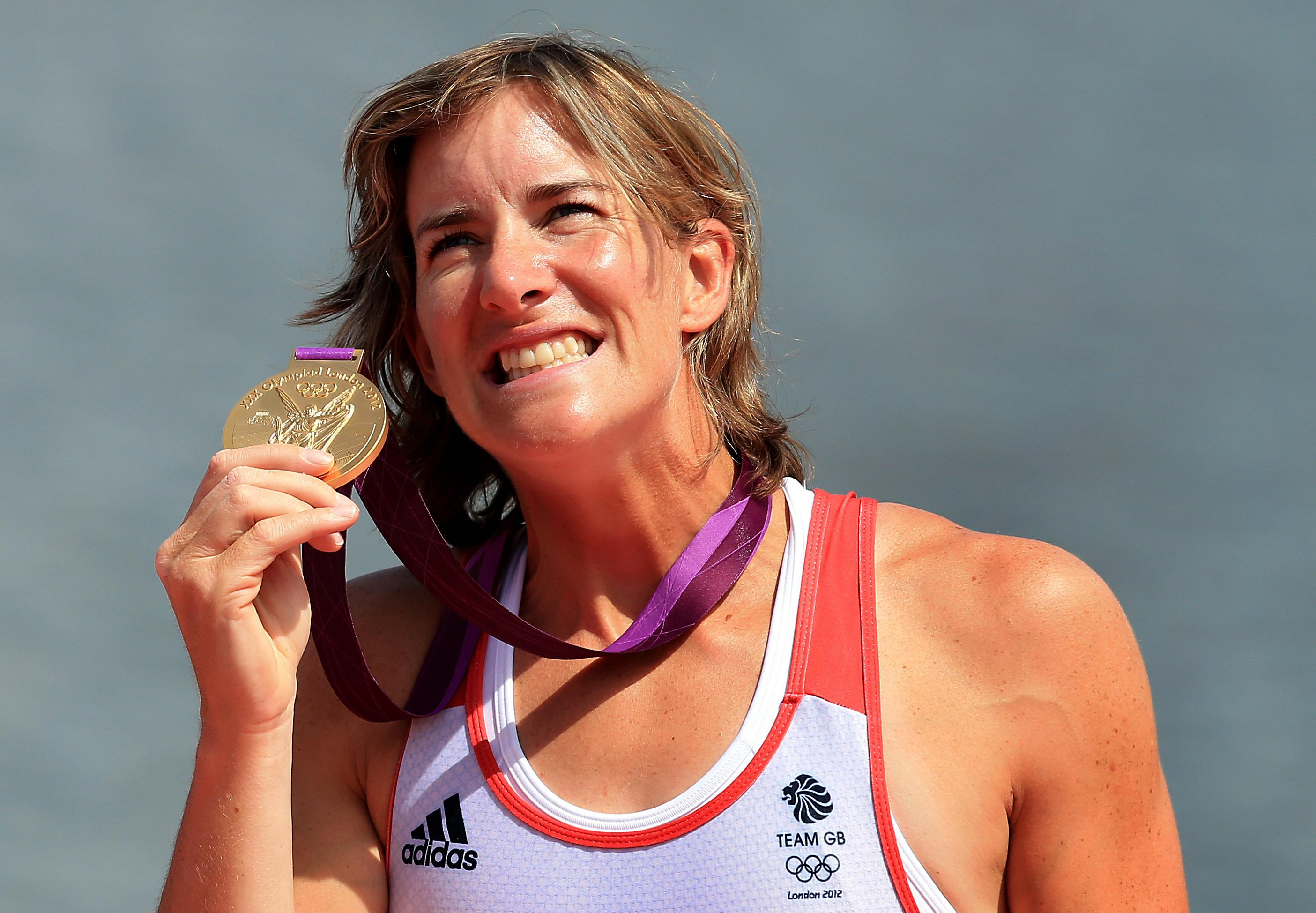 Katherine Grainger is Britain's most decorated female Olympian