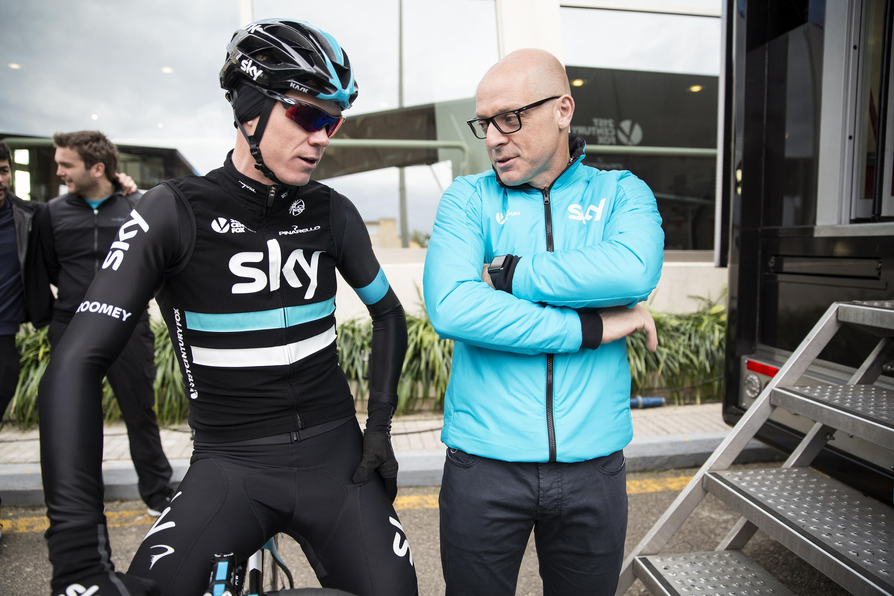 Froome and Sir Dave Brailsford are now free to plan for the start of the Tour de France on Saturday as the Brit goes for his fifth title