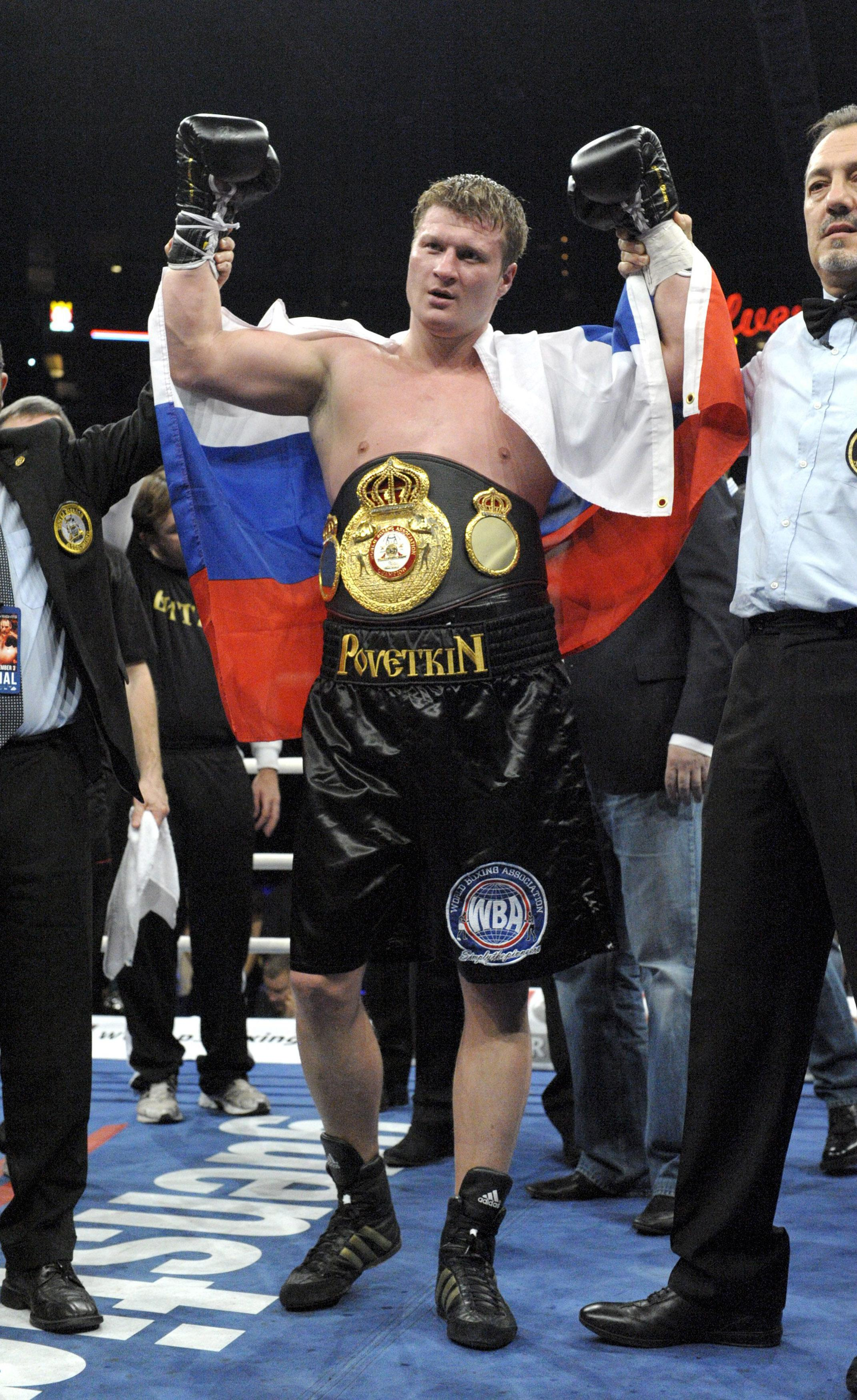 Povetkin failed drug tests in 2016 and 2017