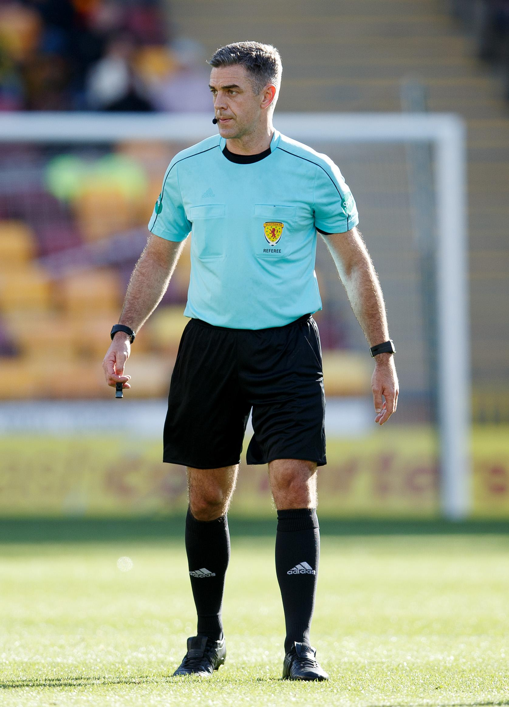 Referee Aitken was unable to make the Alloa-Ross County match