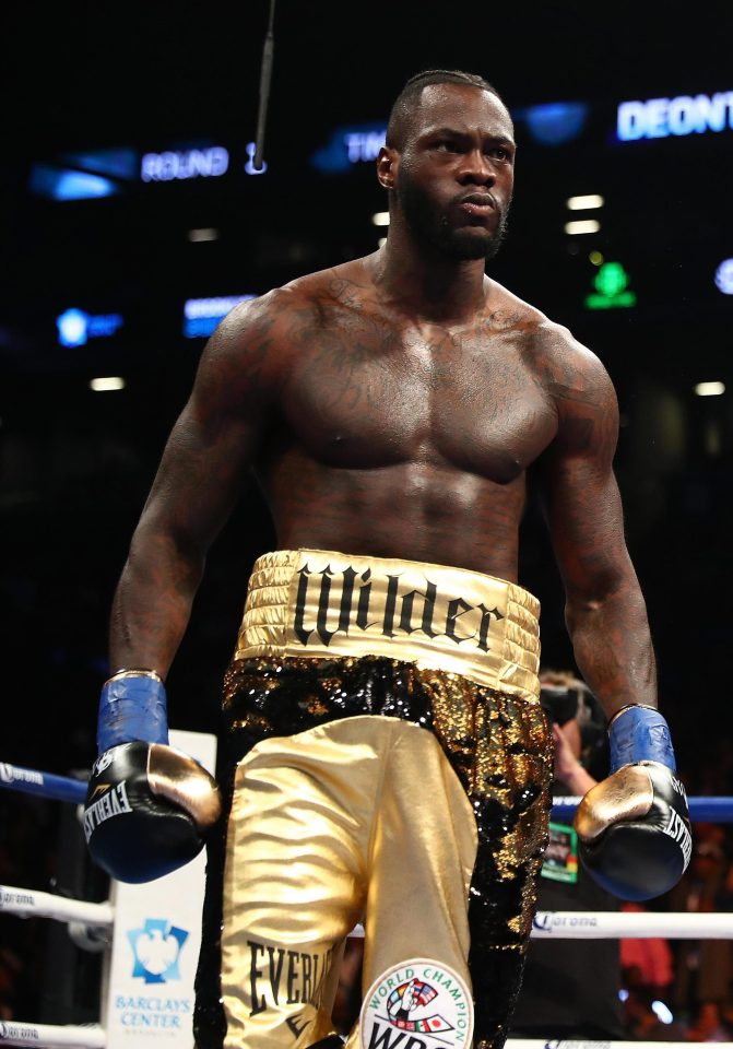 Deontay Wilder has proved a tough man to negotiate with