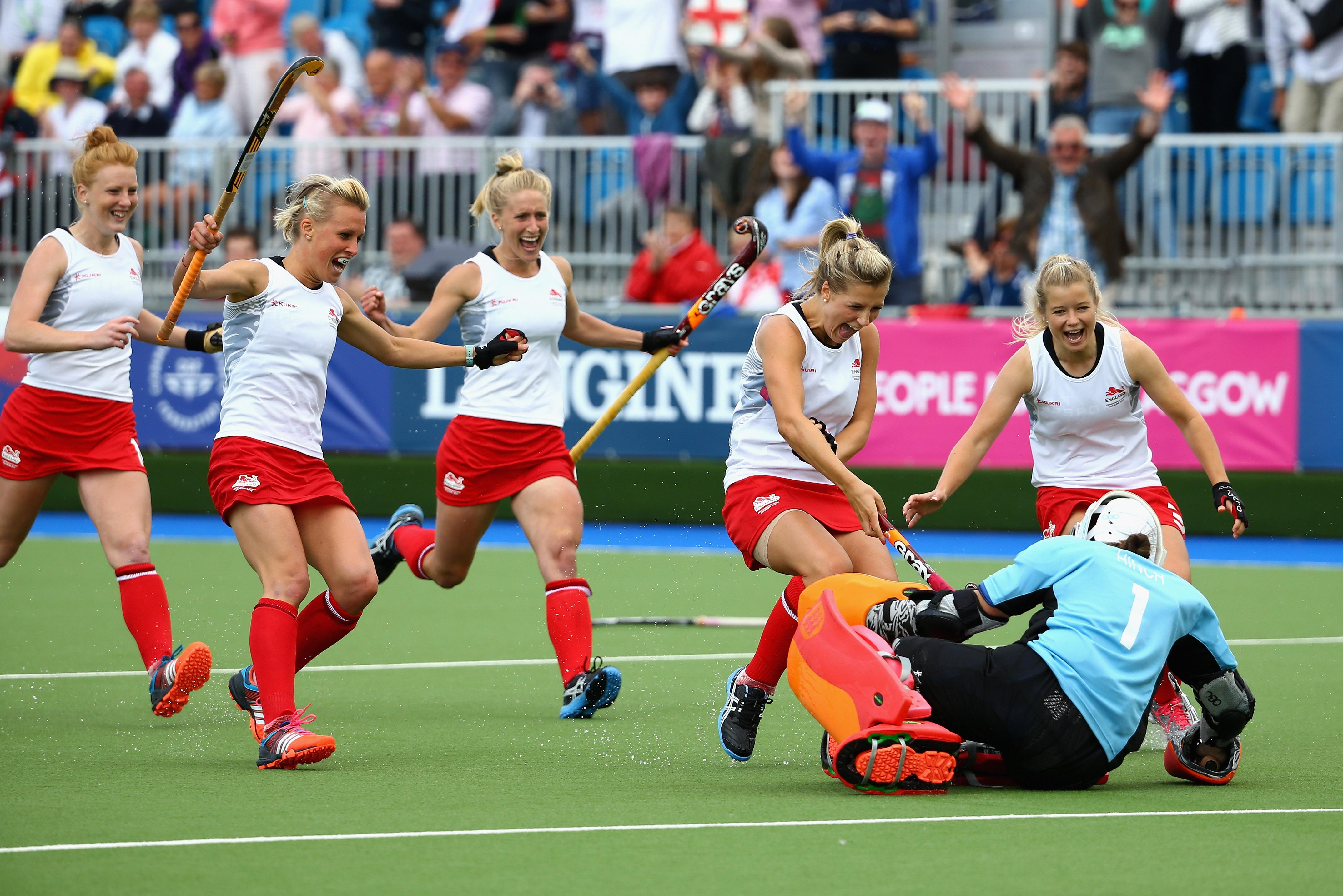 England won the bronze medal at the 2018 Commonwealth Games