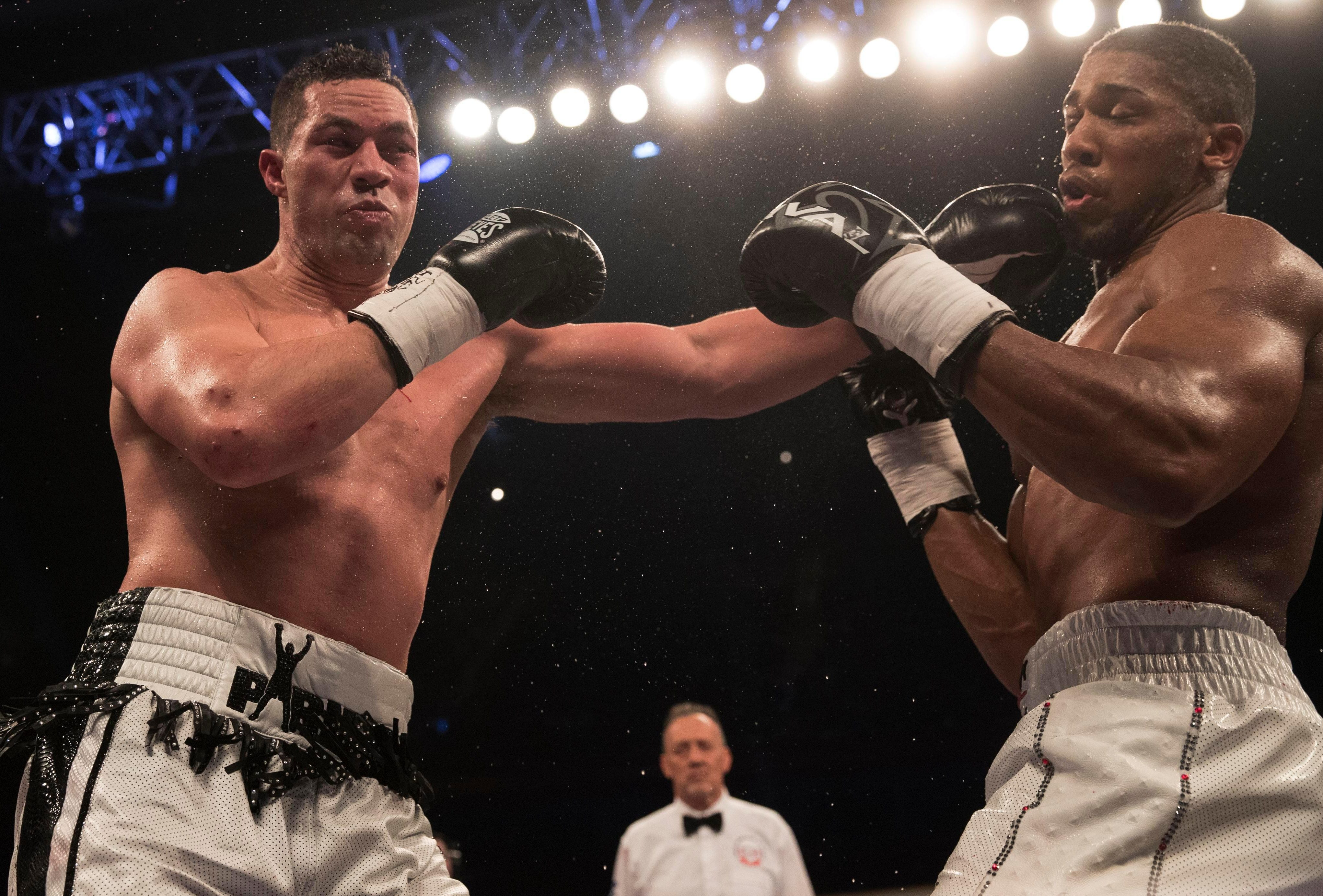New Zealand ace Parker pocketed a reported £6million following his bout with Joshua