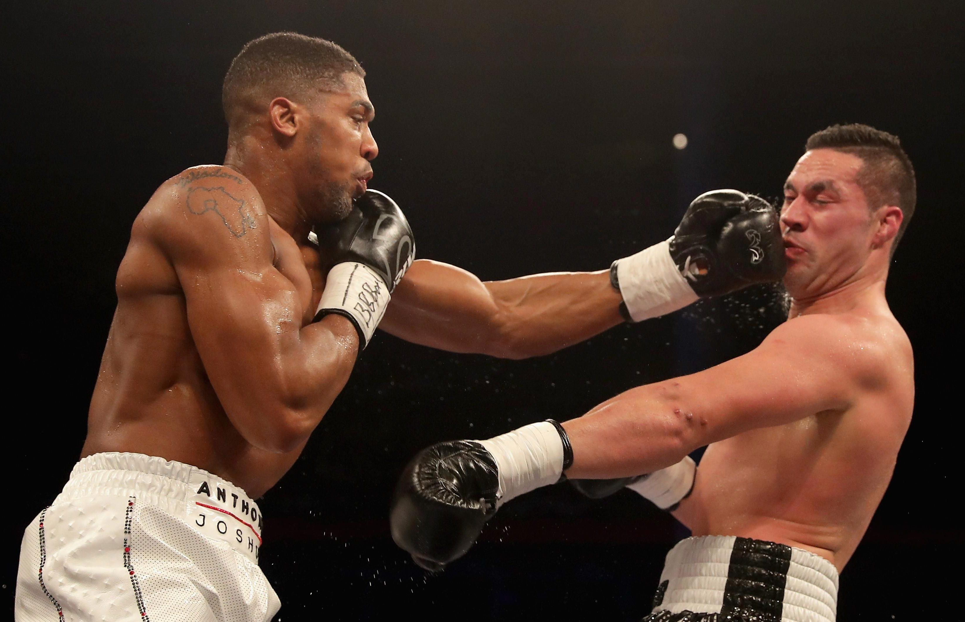 Parker, 26, suffered a wide unanimous points decision to AJ at the Principality Stadium in March