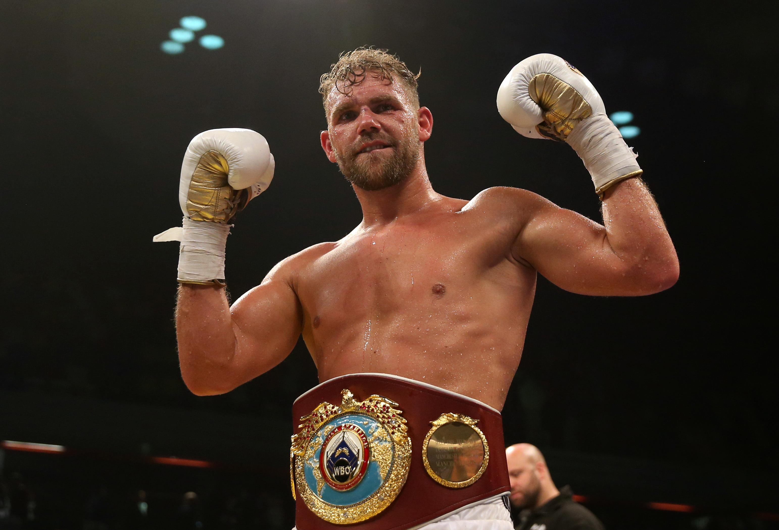 Billy Joe Saunders might hold the WBO middleweight title - but injuries have restricted his defences of the strap