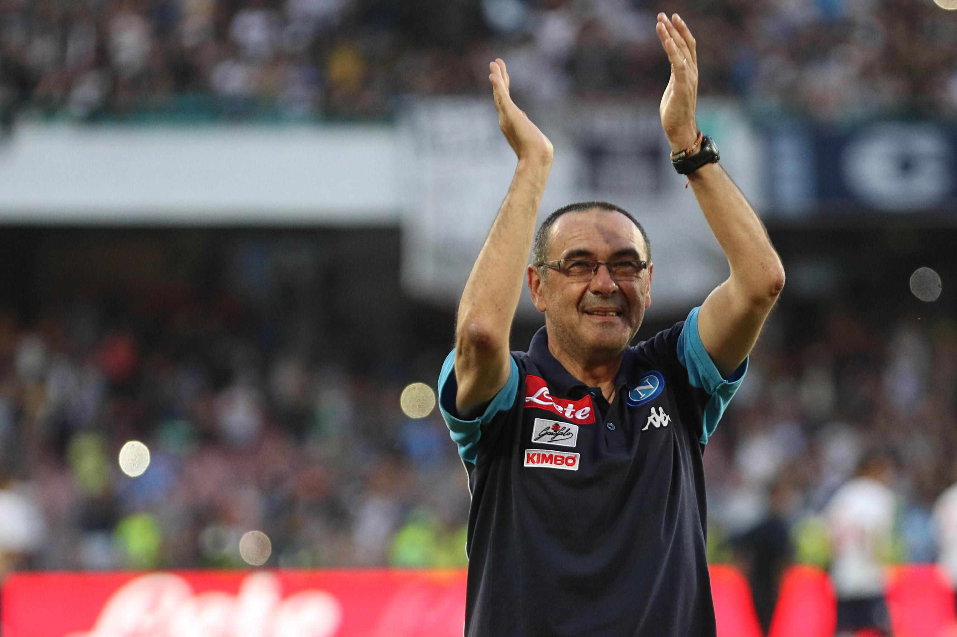 Sarri lived life like a recluse and hardly ventured out in Naples