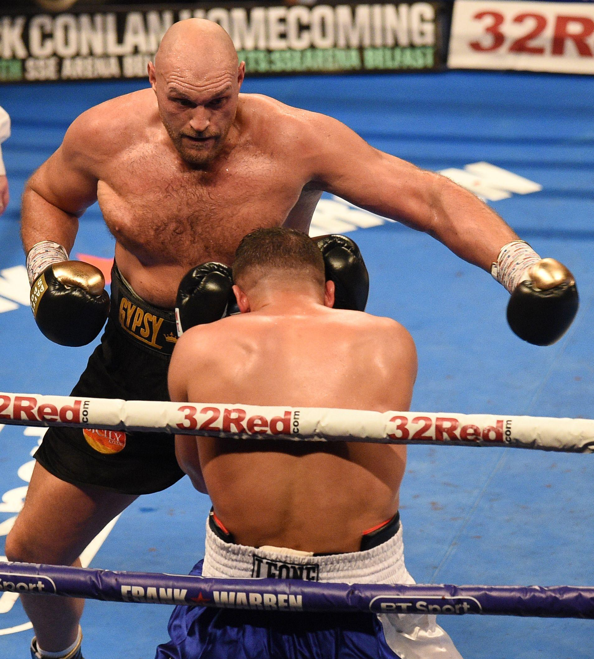 Unbeaten Fury beat Sefer Seferi in his last outing - two-and-half-years after his win over Wladimir Klitschko
