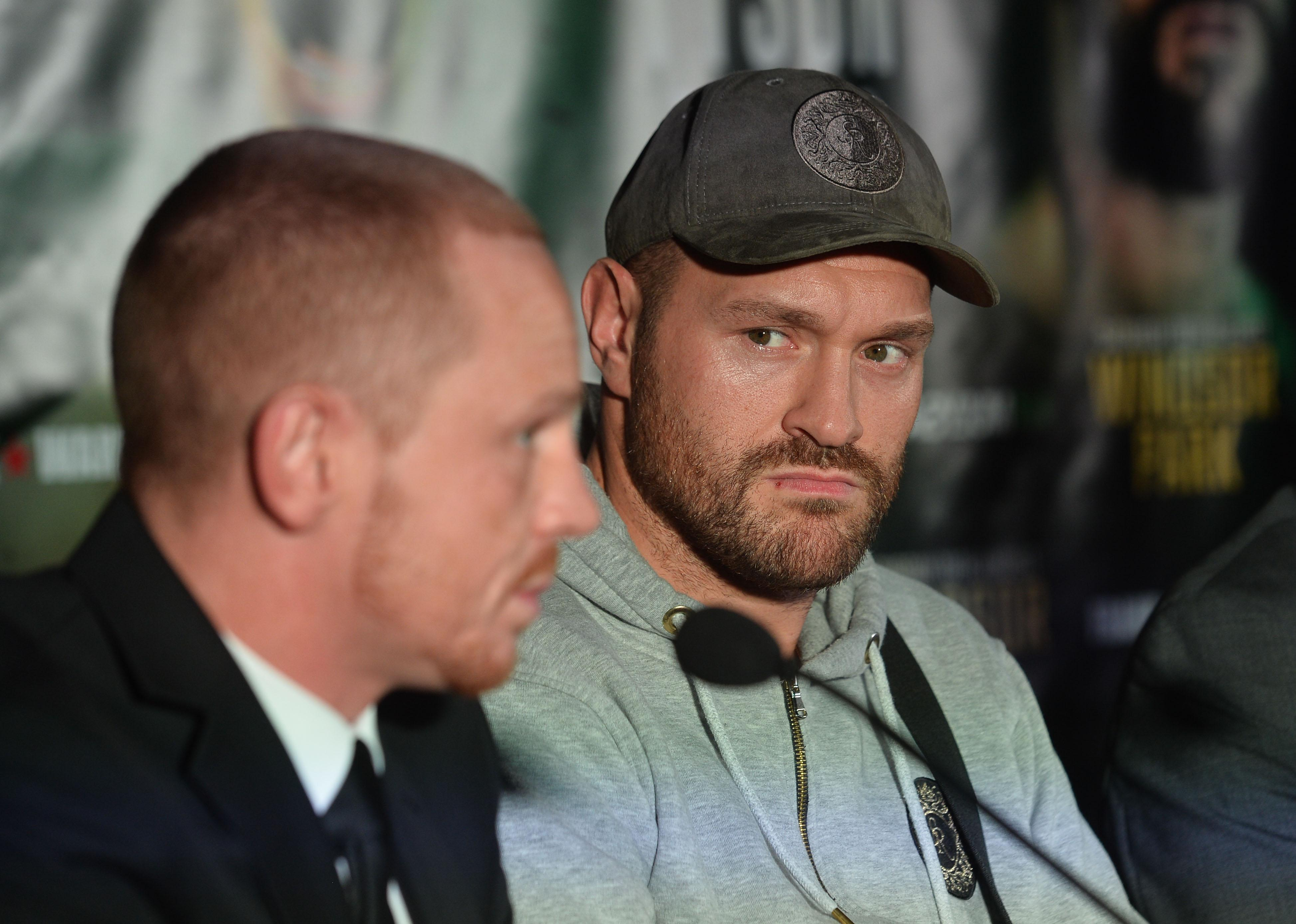 Tyson Fury has promised to be 'all business' in his next fight