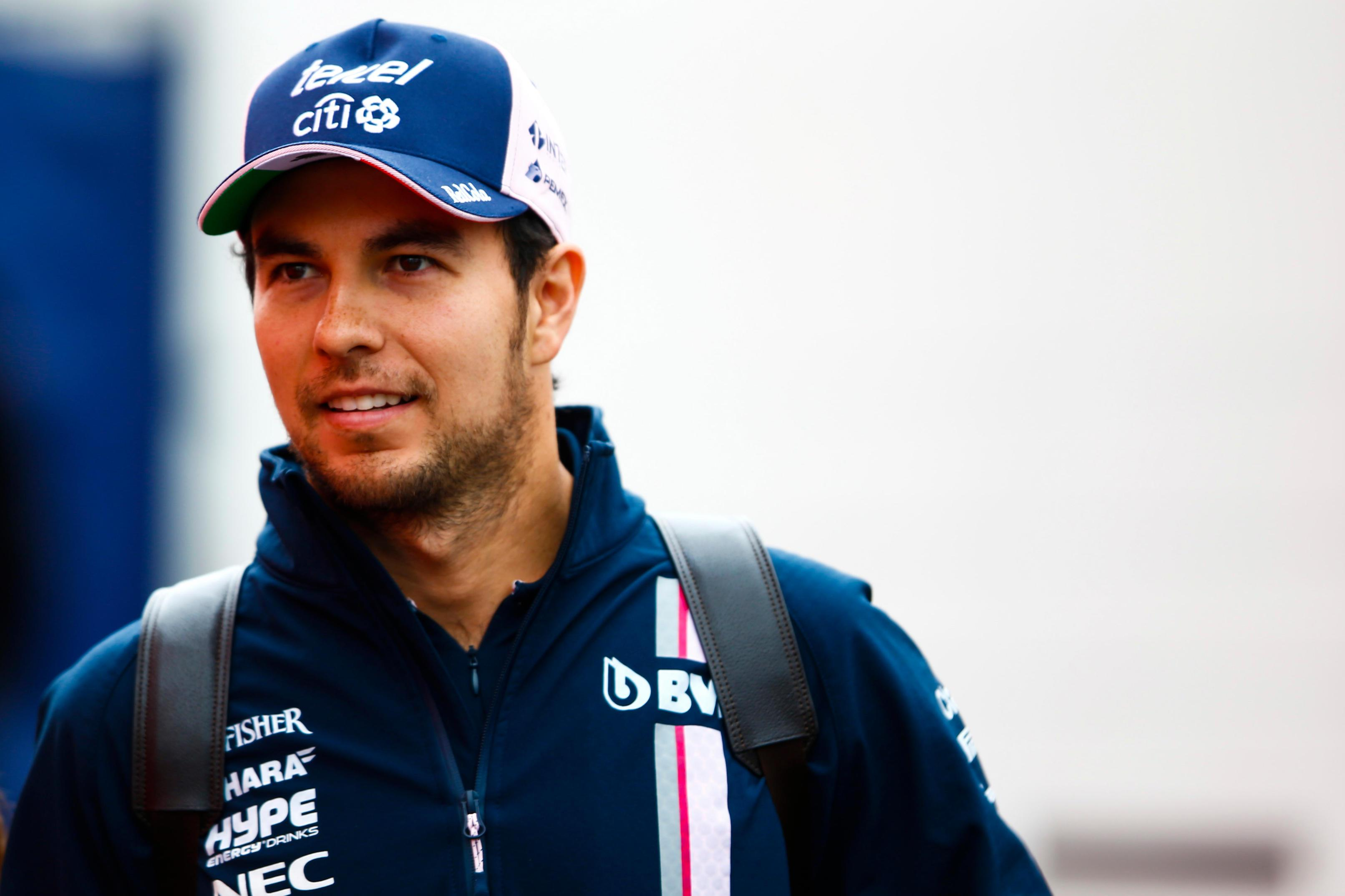 The Mexican is hopeful of a future with Force India