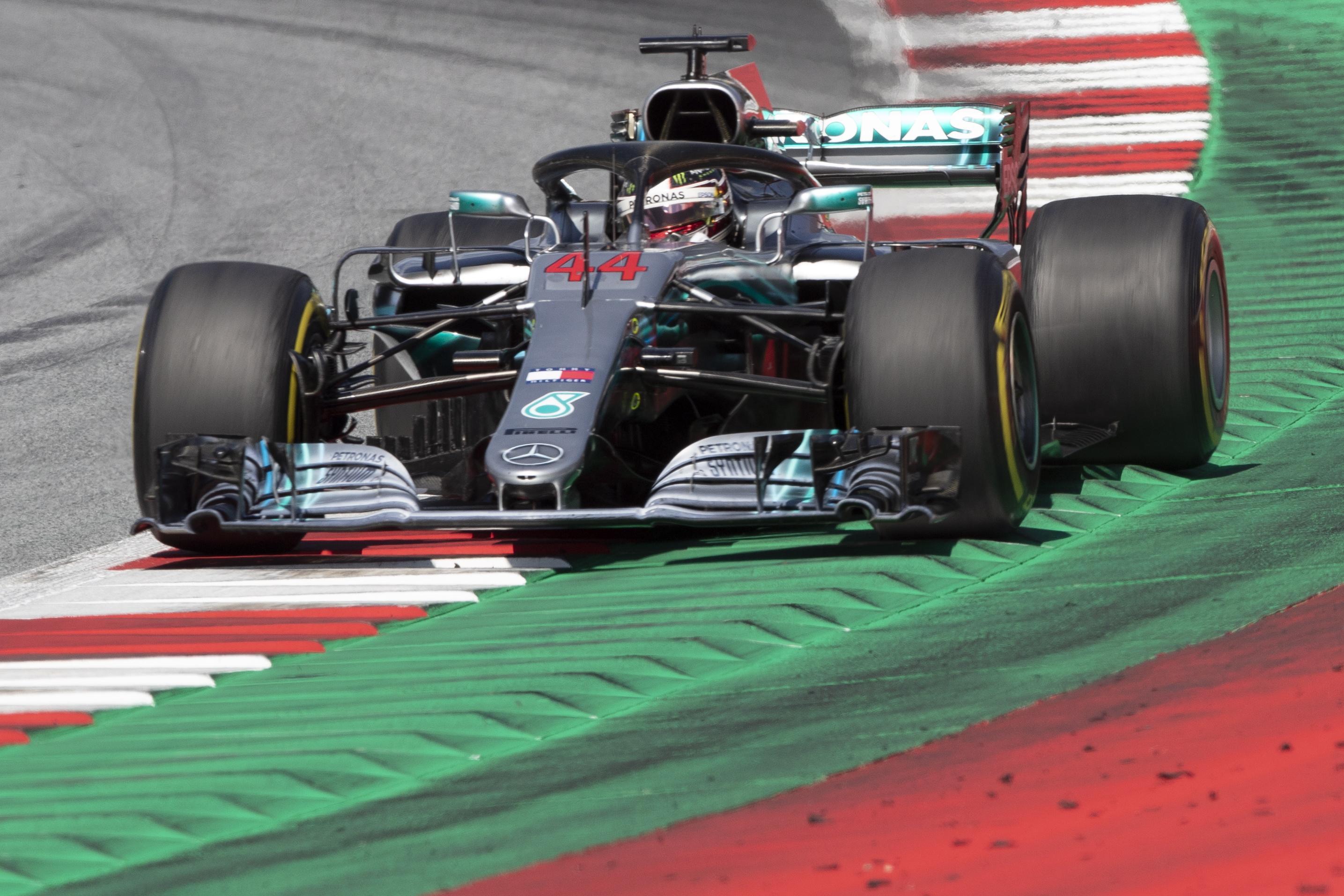 Hamilton surrendered his title lead to Sebastian Vettel