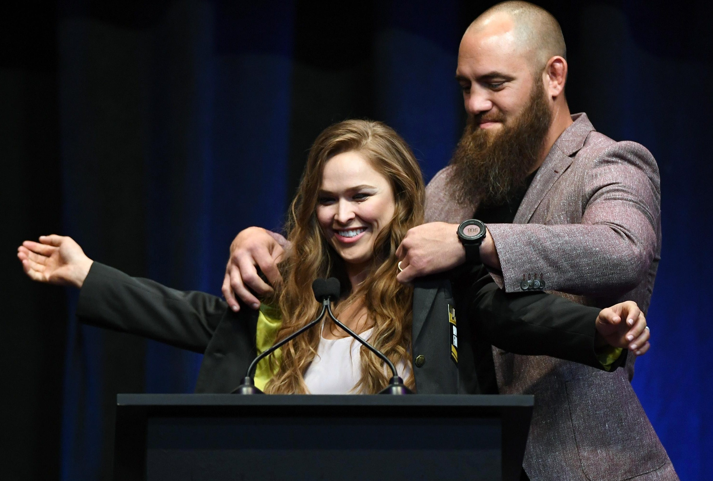 Travis Browne and Ronda Rousey would work together