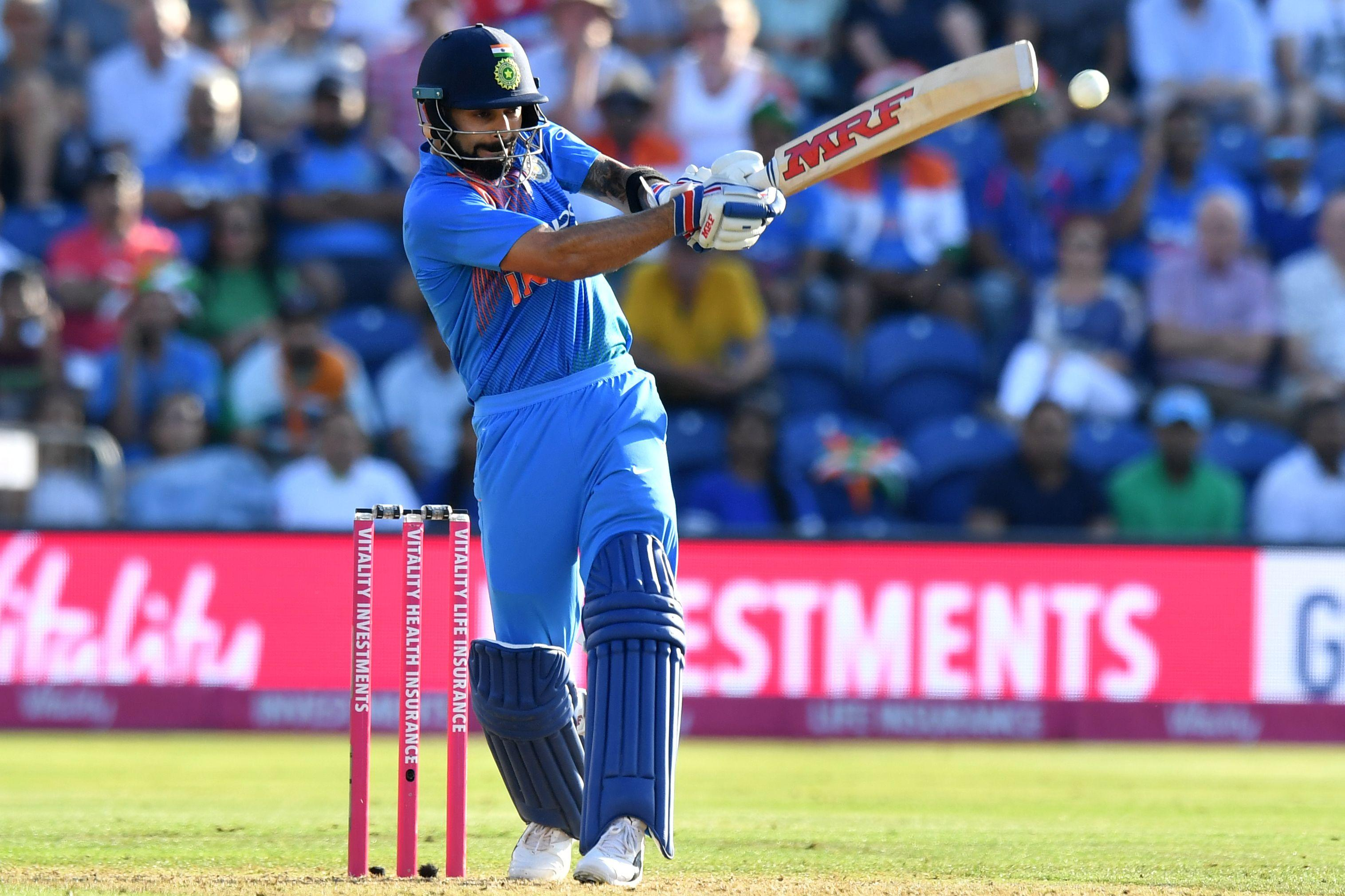 Virat Kohli top scored in India's innings with 47 from 38 balls