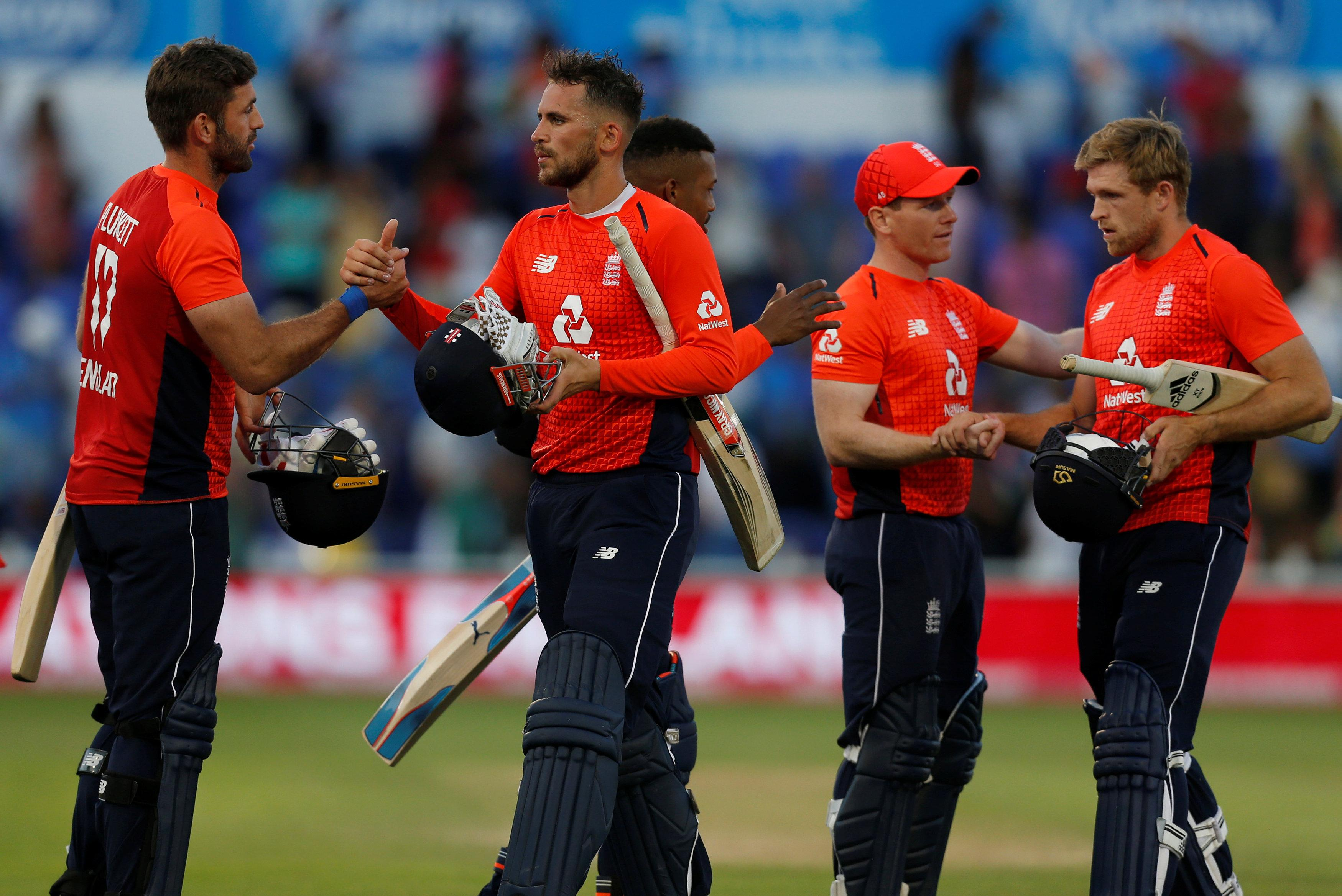 Alex Hales sealed a five-wicket victory for England in Cardiff